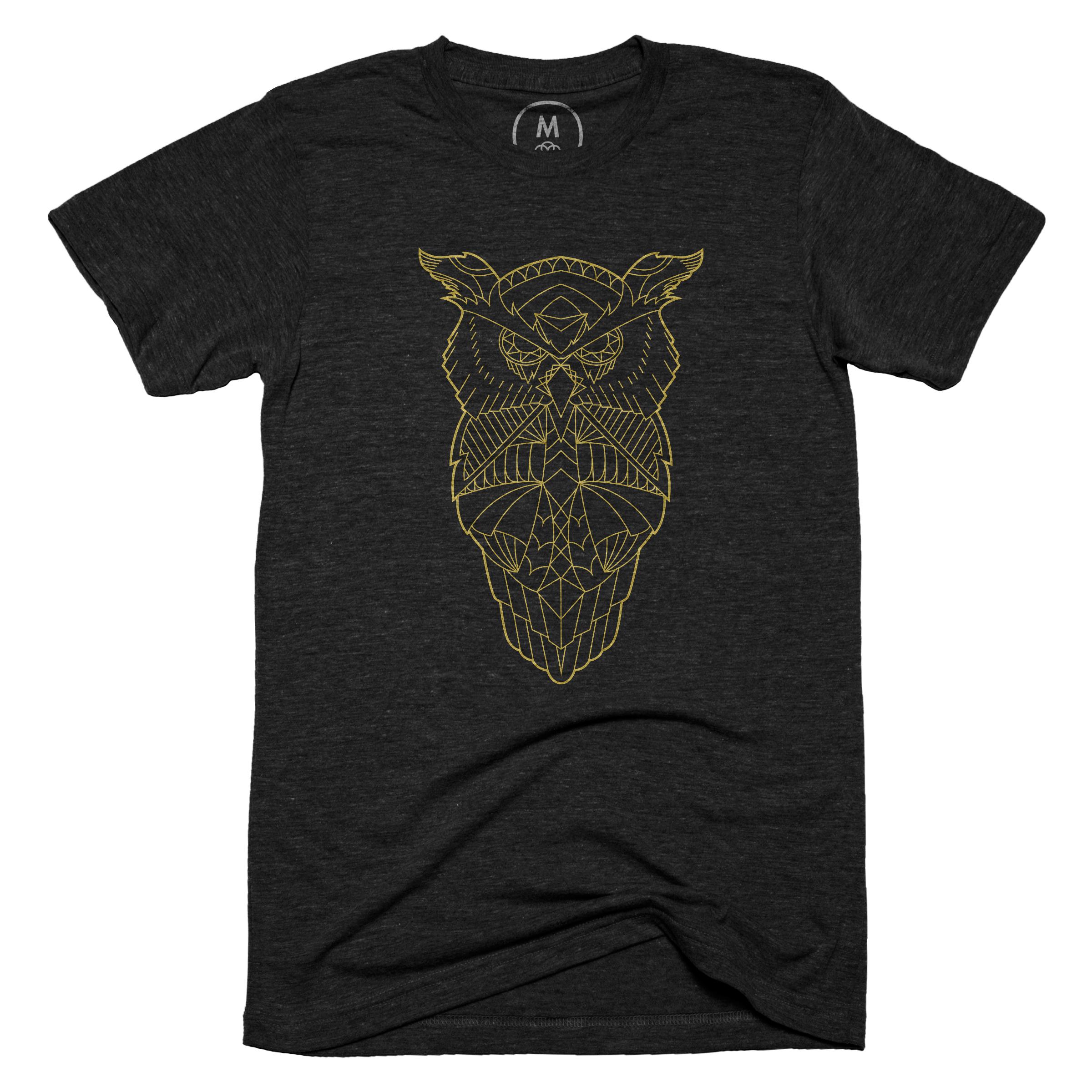 Owl Do the Math Vintage Black (Men's)
