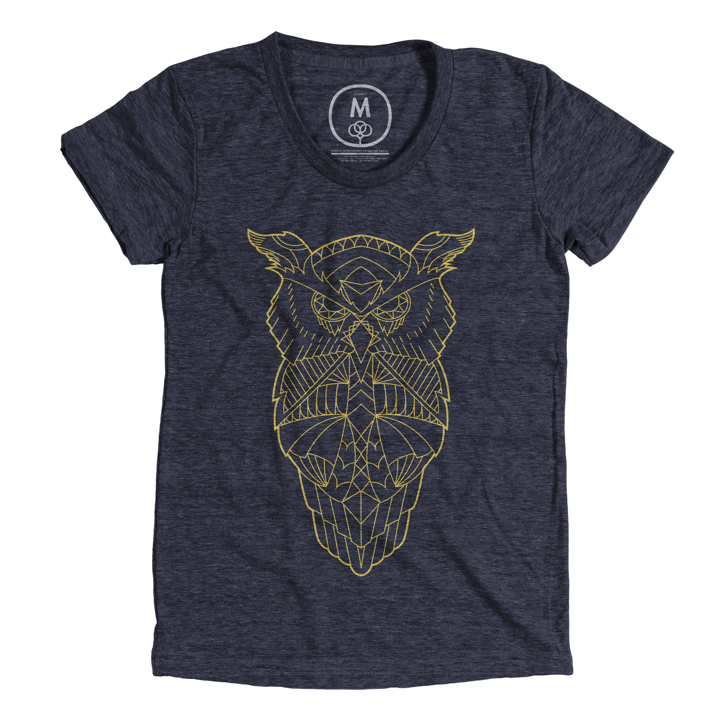Owl Do the Math Vintage Navy (Women's)