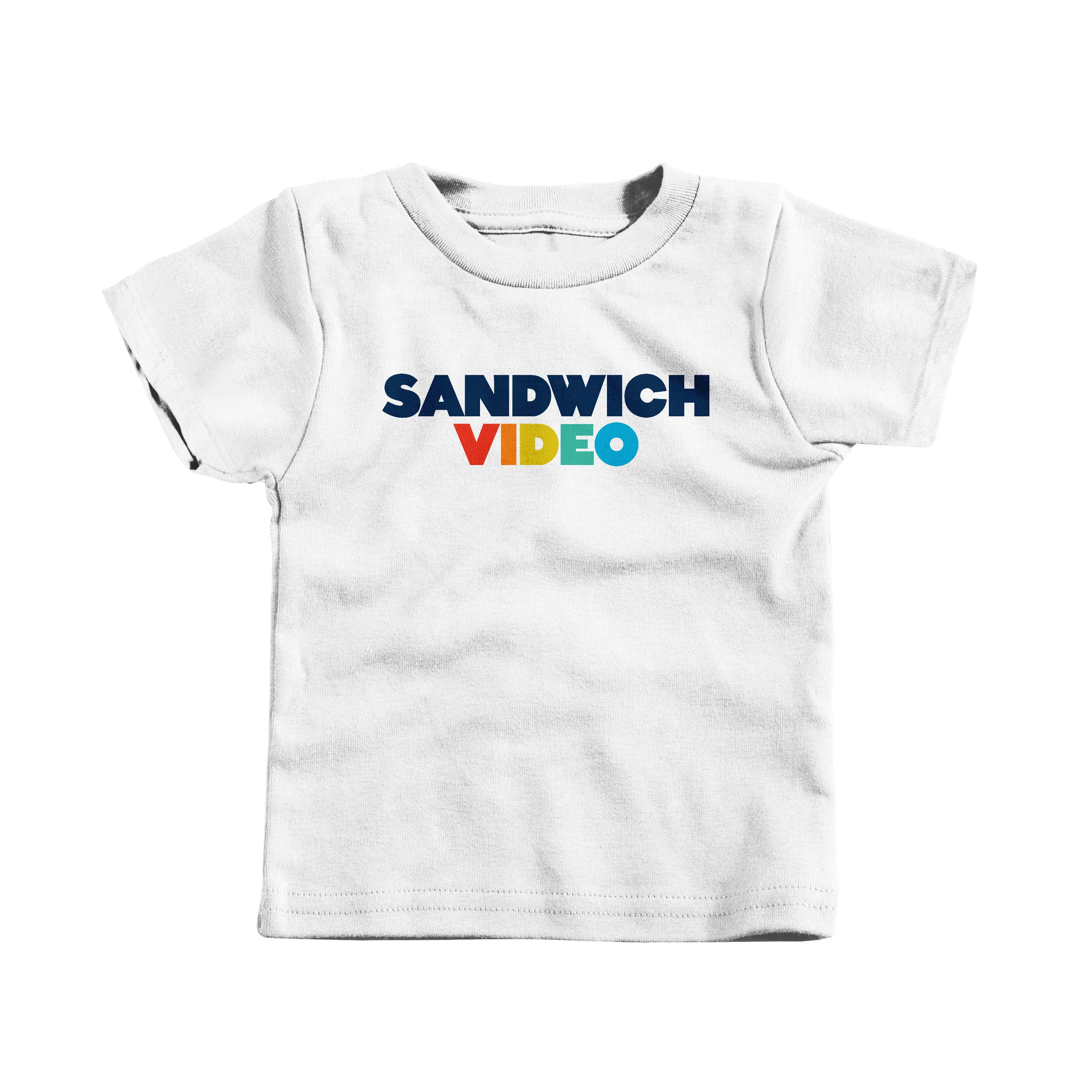 "Sandwich Video ""The Modern"" White (T-Shirt)"
