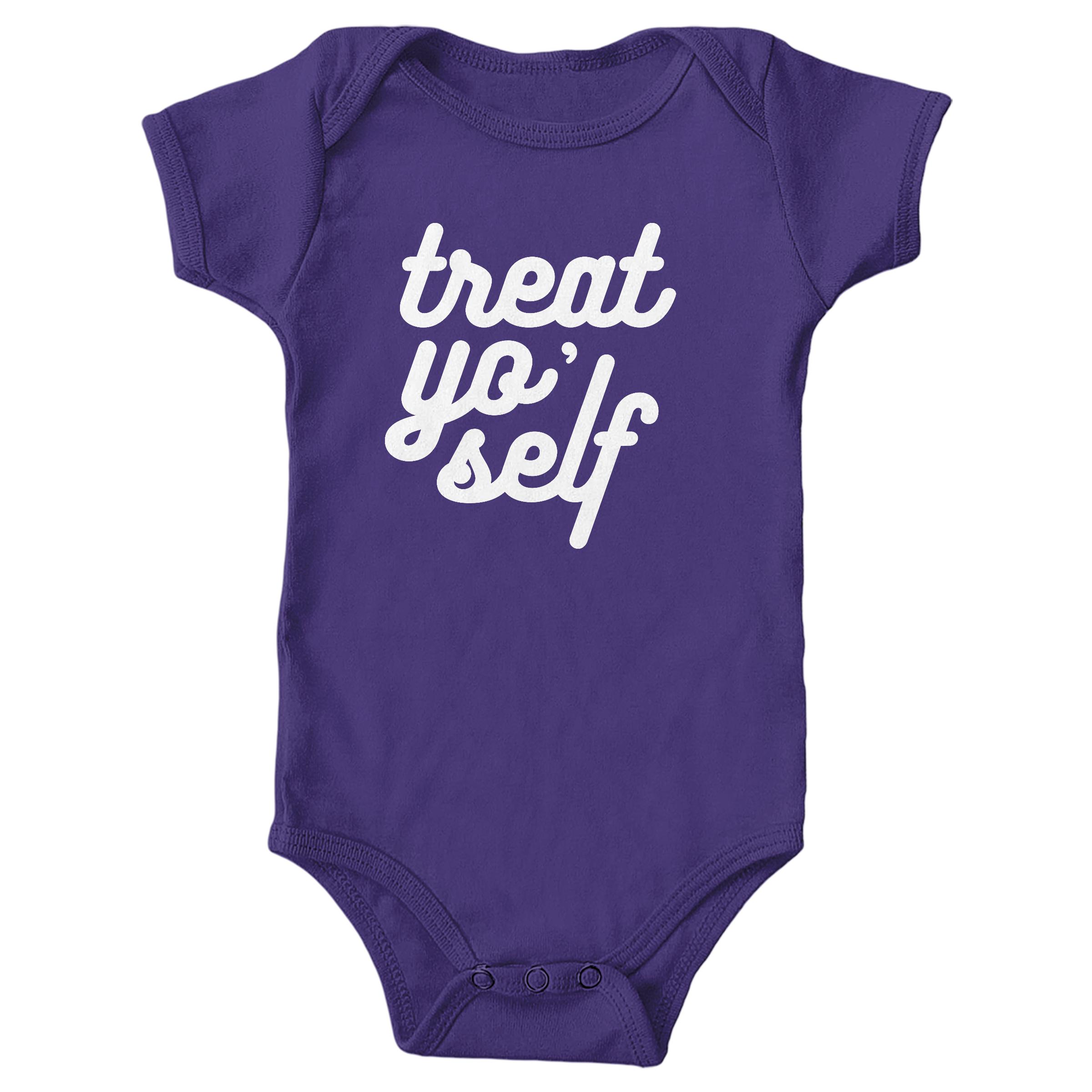 Treat Yo' Self Purple (Onesie)