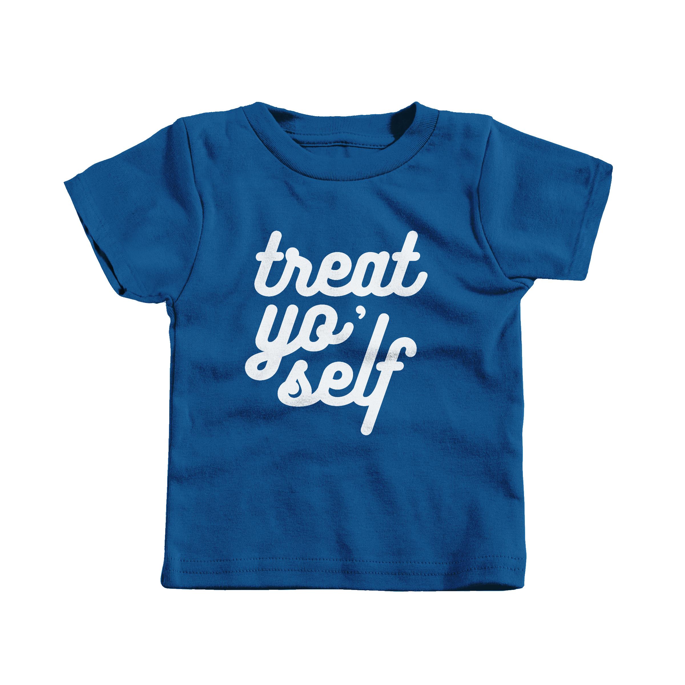 Treat Yo' Self Royal (T-Shirt)