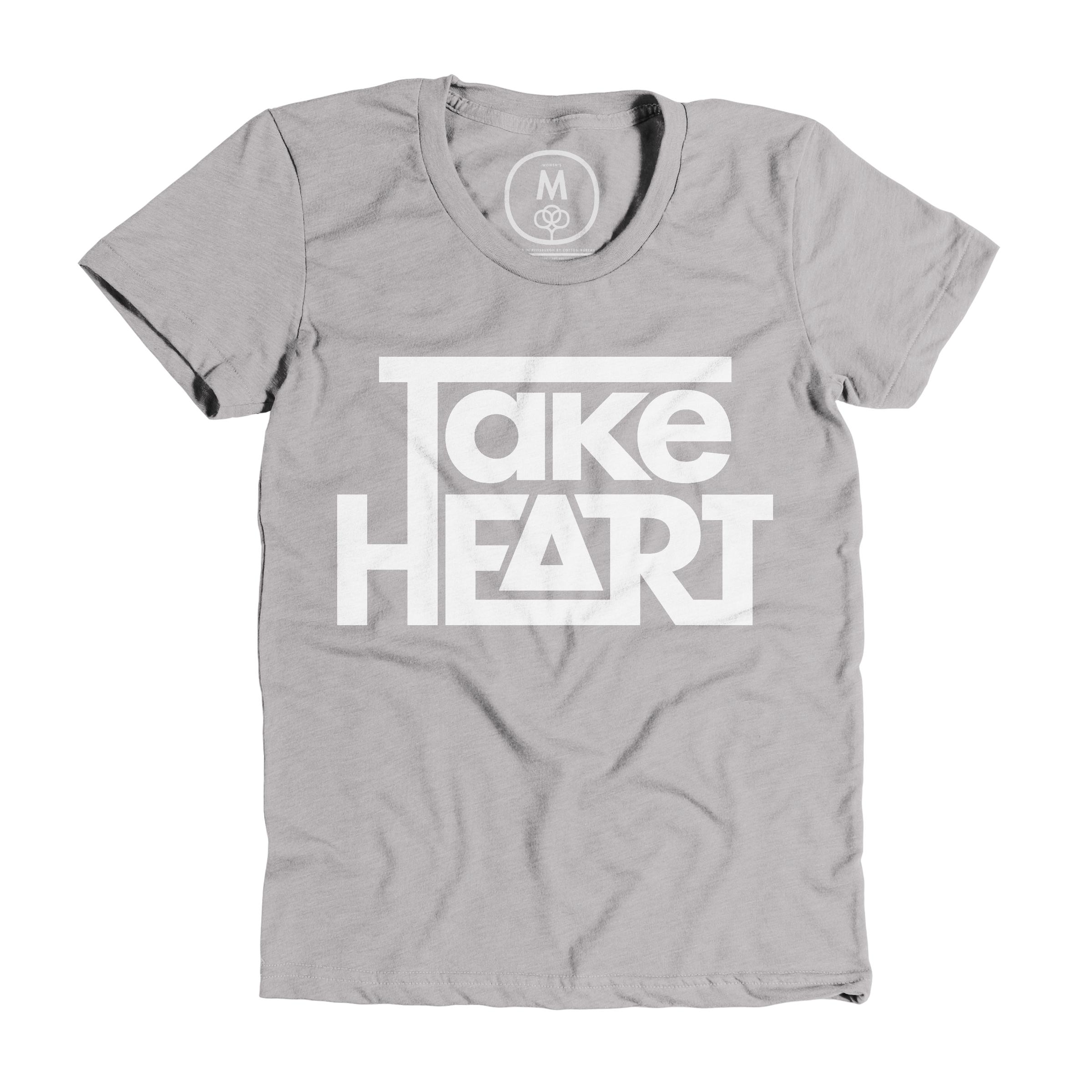 Take Heart Dark Heather Grey (Women's)
