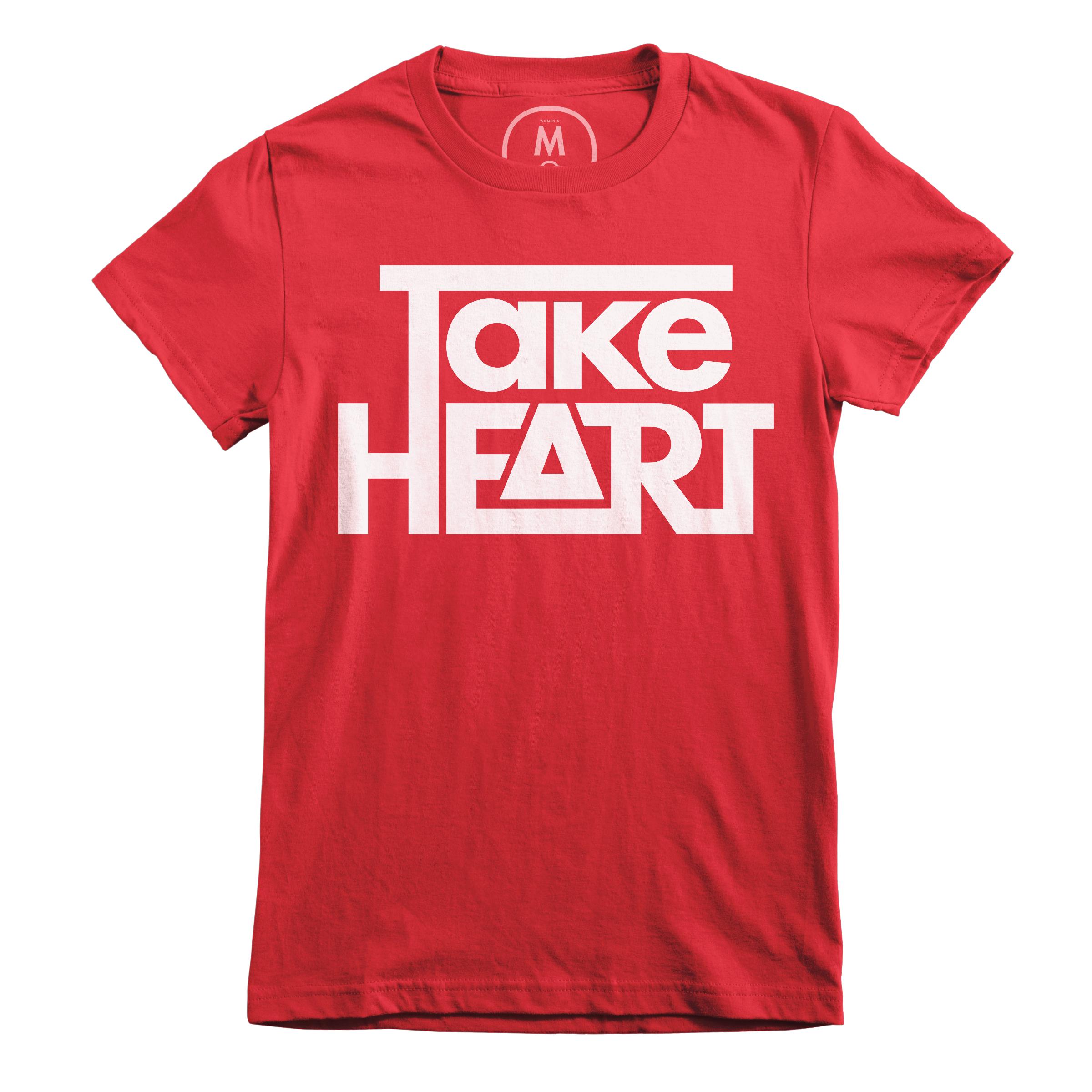 Take Heart Red (Women's)