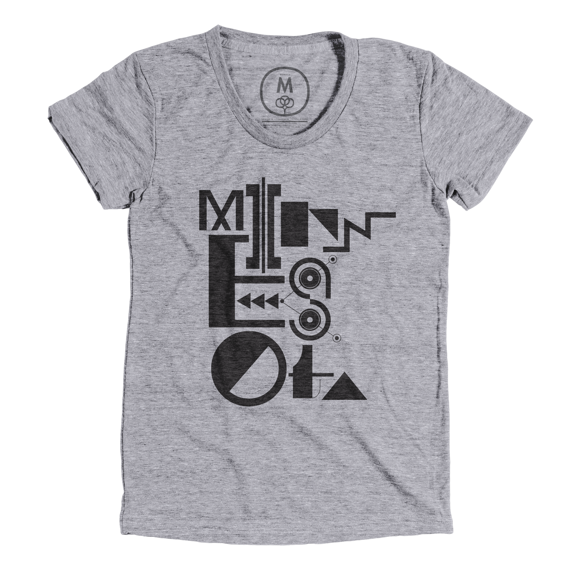 Minnesotypography Premium Heather (Men's)