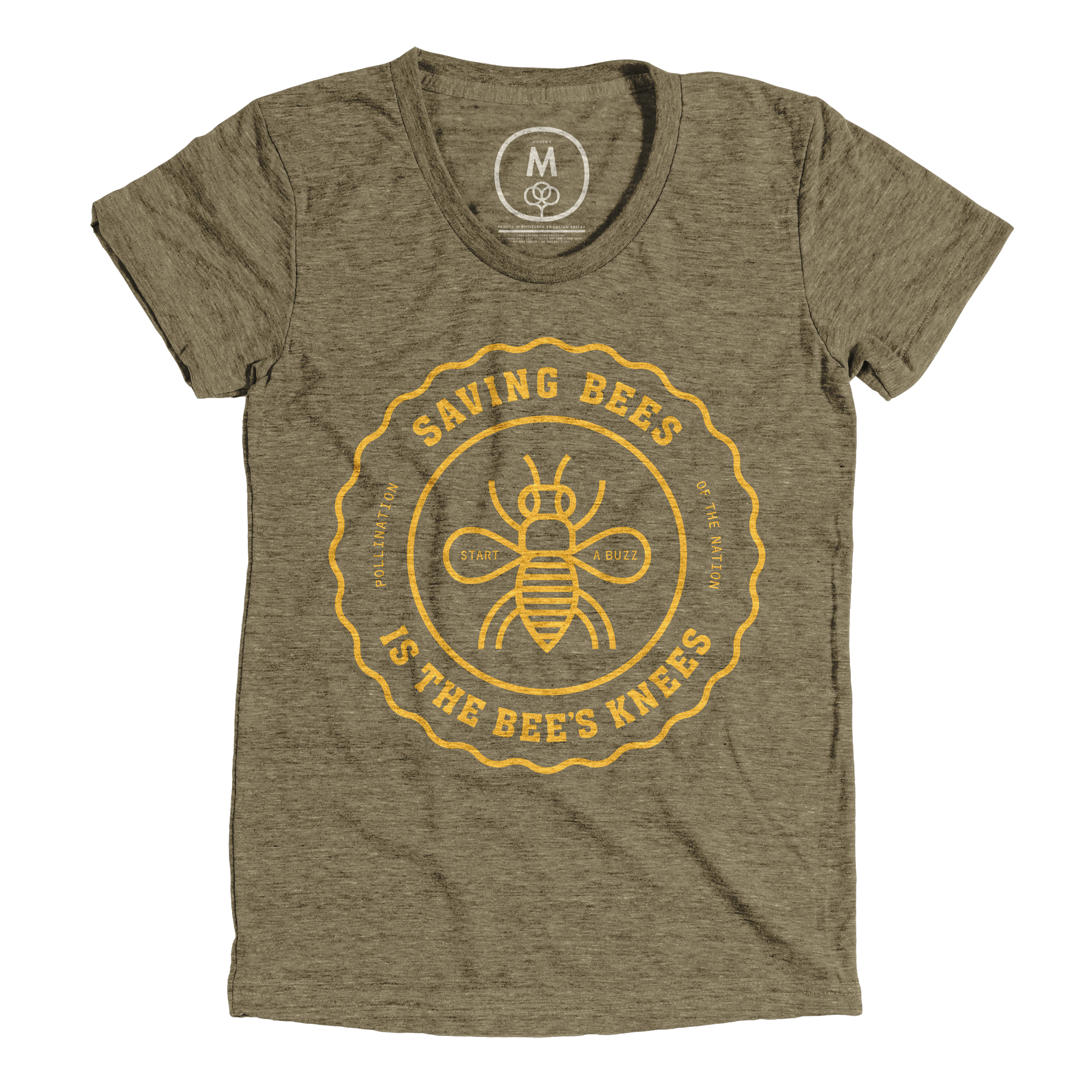 The Bee's Knees Military Green (Women's)