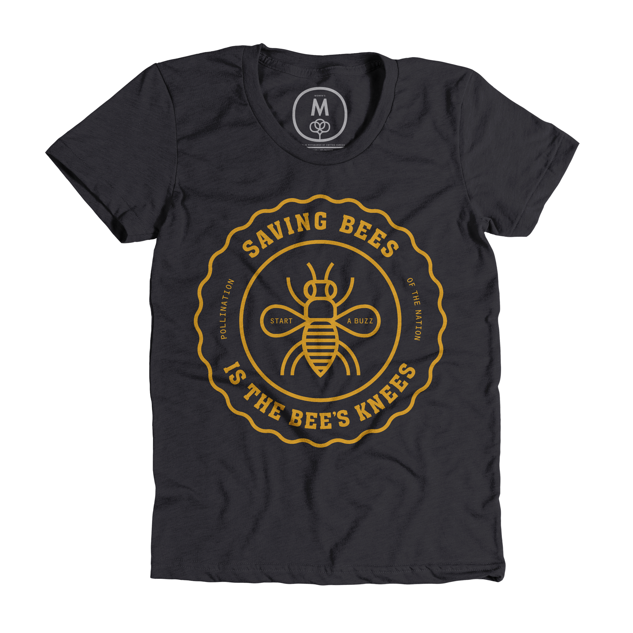 The Bee's Knees Charcoal (Women's)