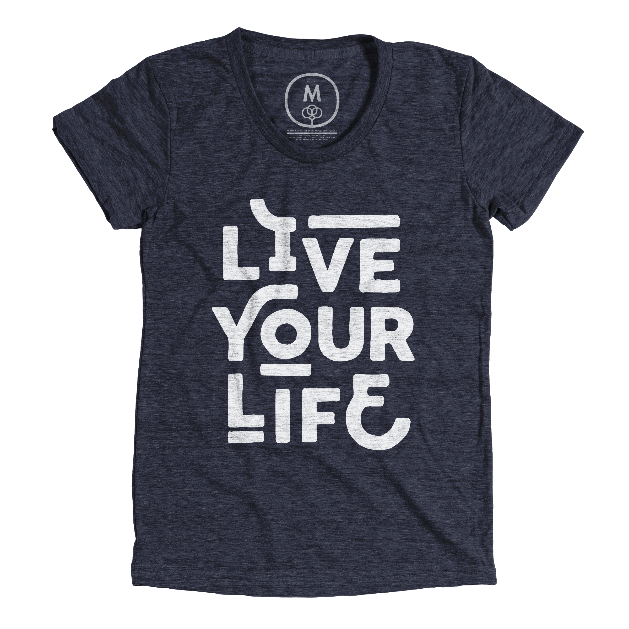 Live Your Life Vintage Navy (Women's)