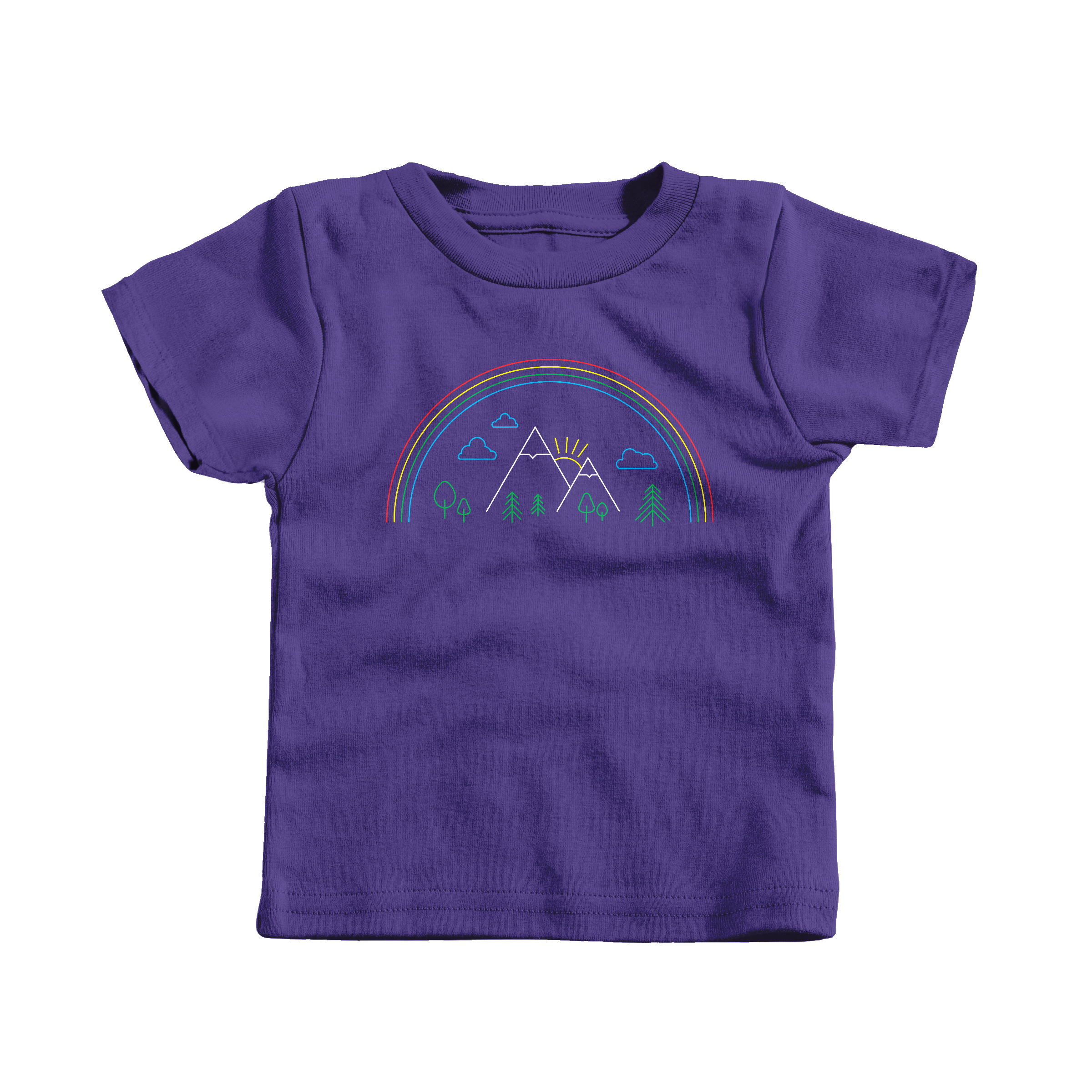 Mountain Pride Purple (T-Shirt)