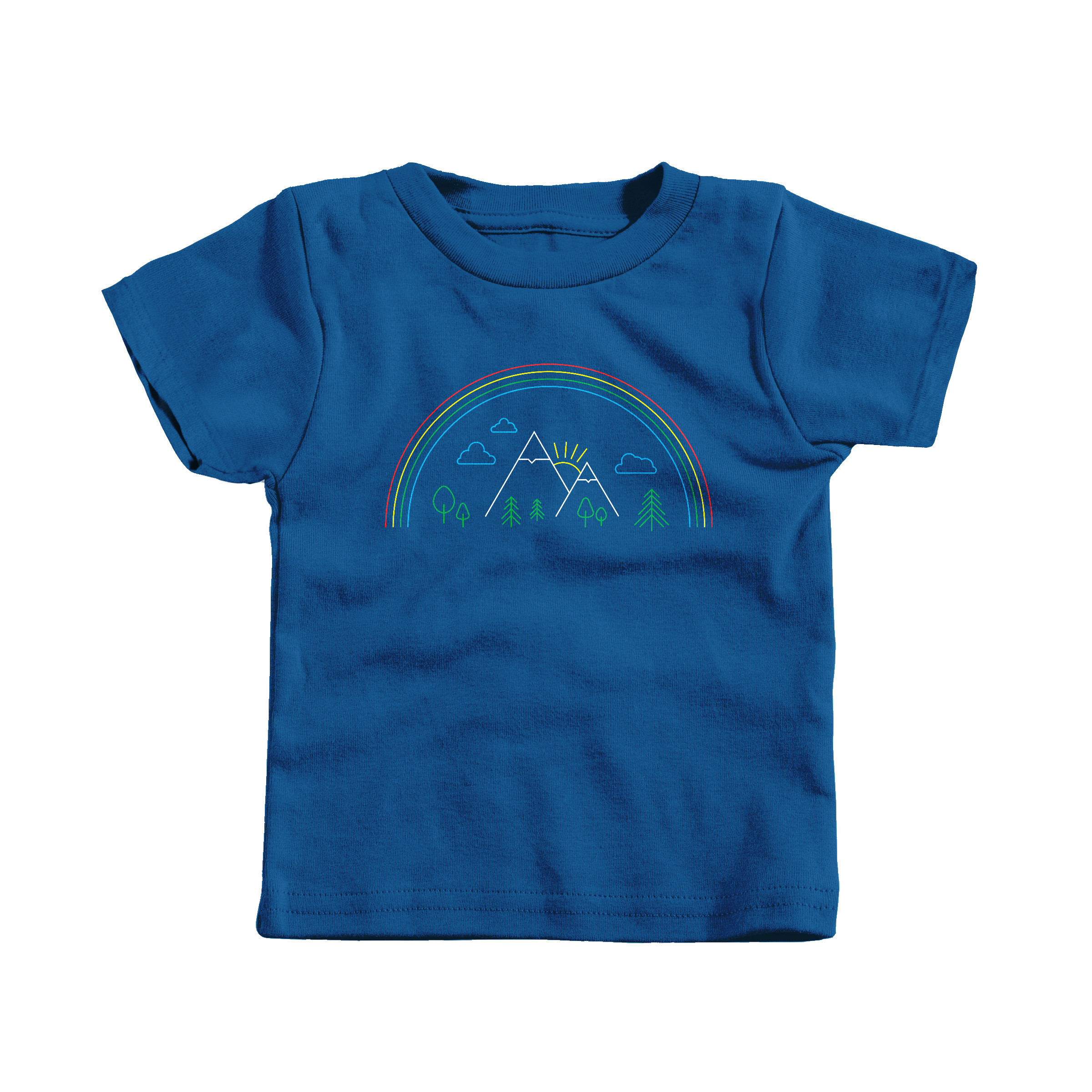 Mountain Pride Royal (T-Shirt)