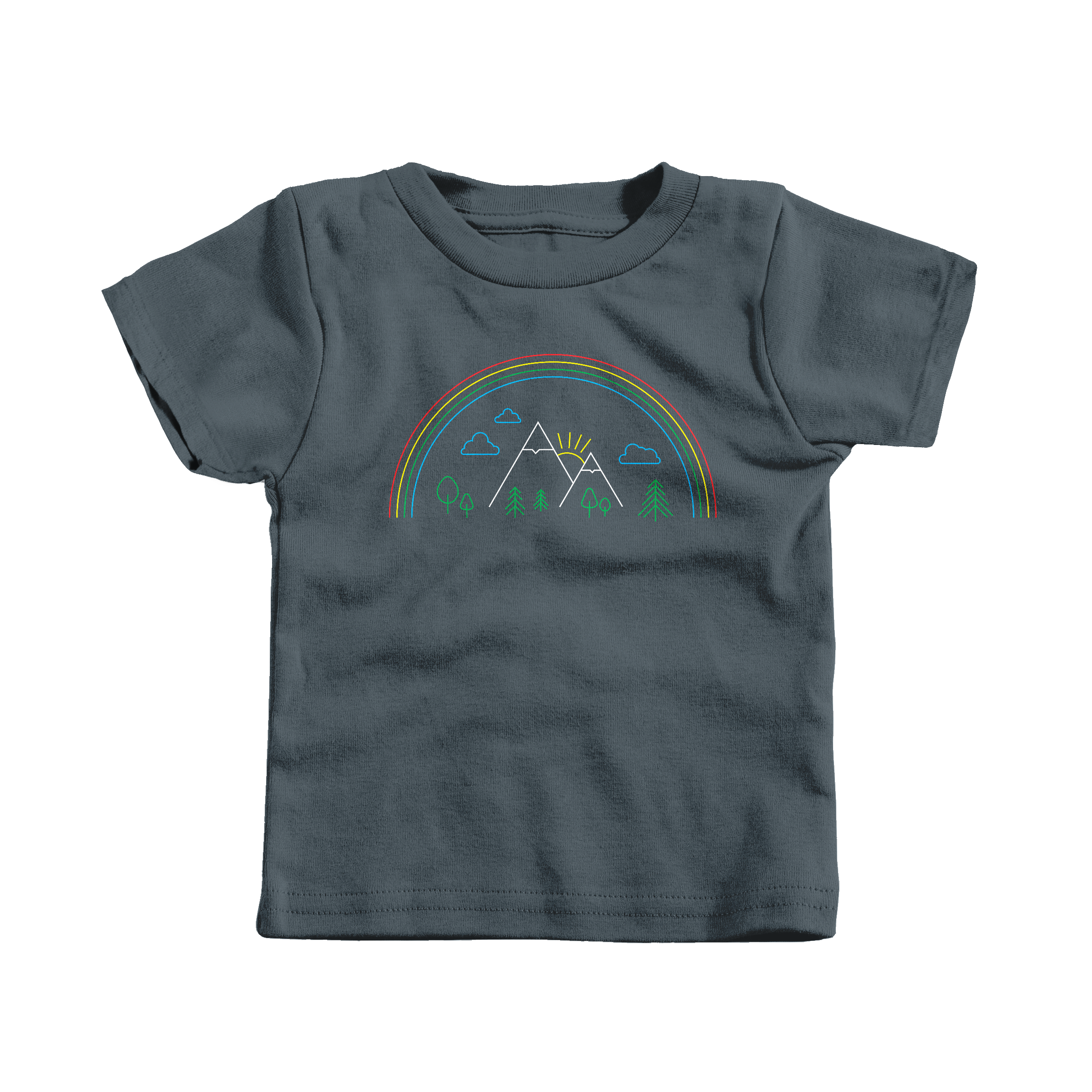 Mountain Pride Charcoal (T-Shirt)