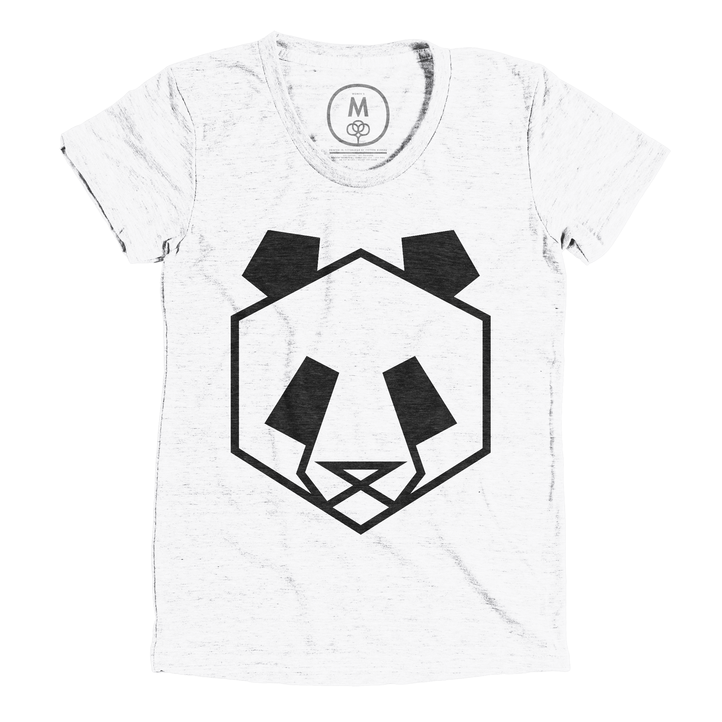 Geo Panda Heather White (Women's)