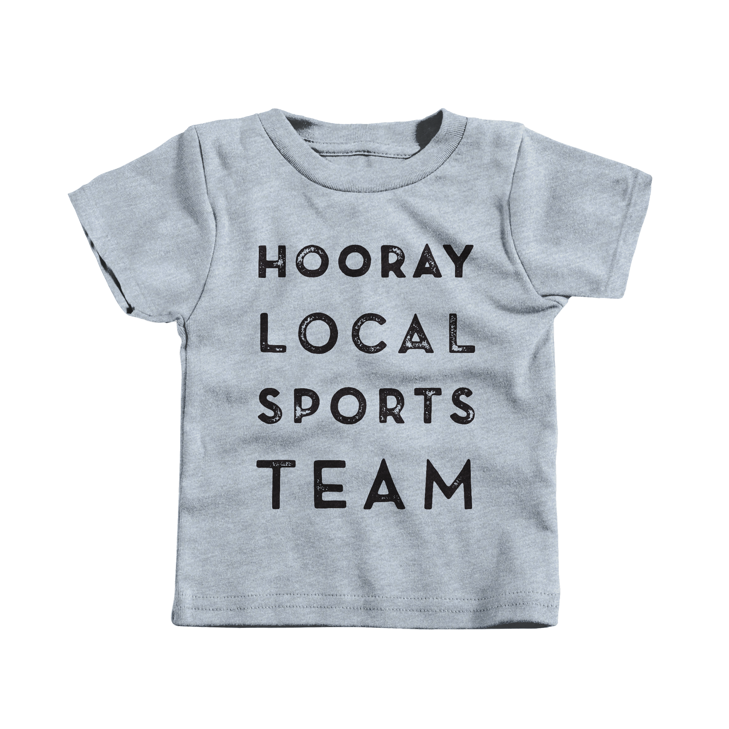 Hooray Local Sports Team Heather Grey (T-Shirt)