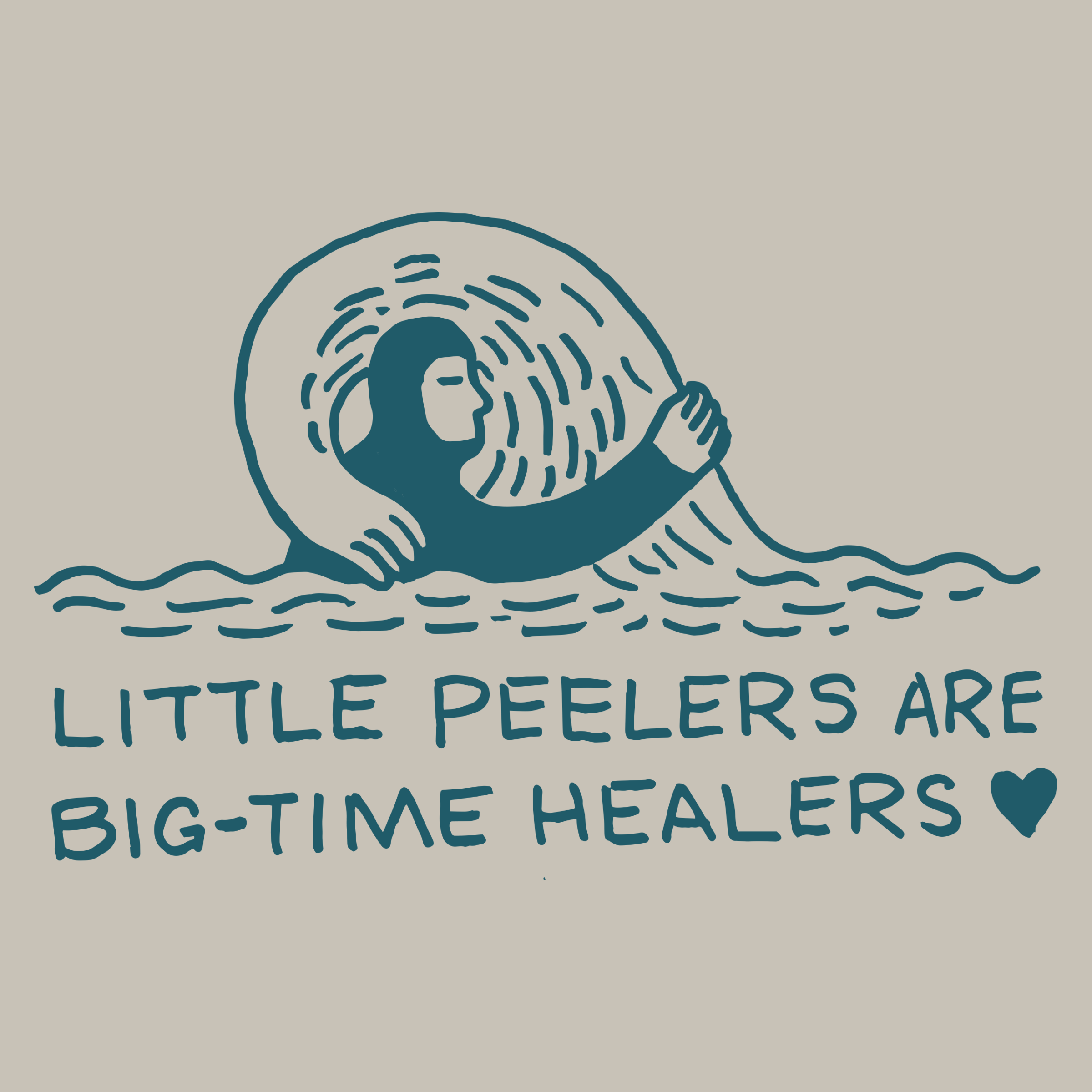 Little Peelers are Big-time Healers