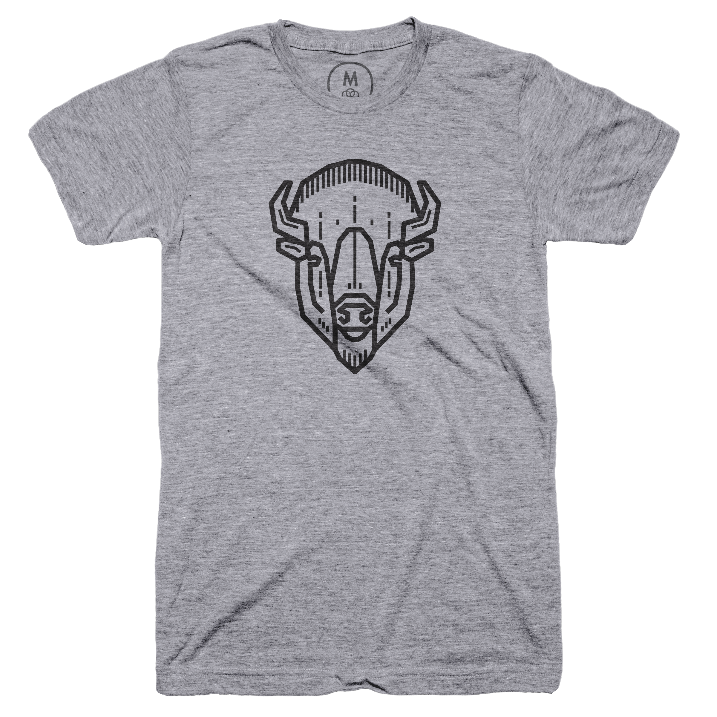 Bison Head Premium Heather (Men's)