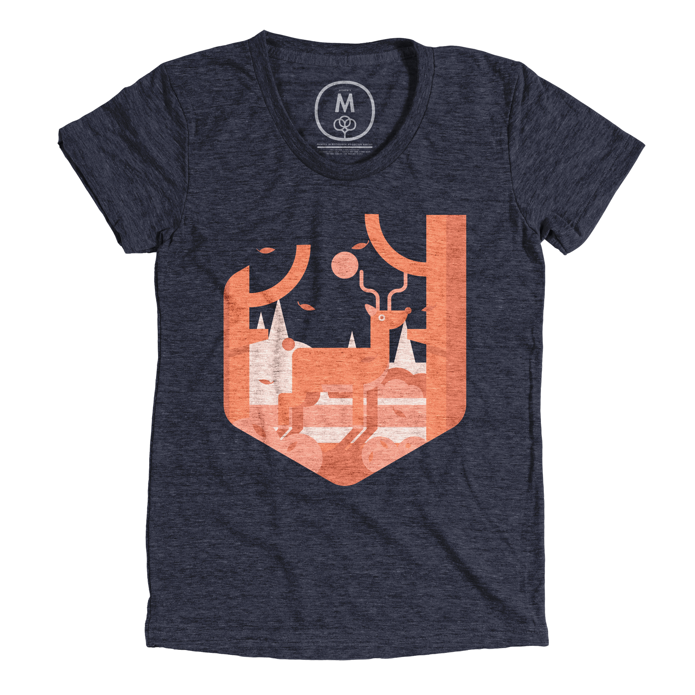 Lost in the Wind Vintage Navy (Women's)