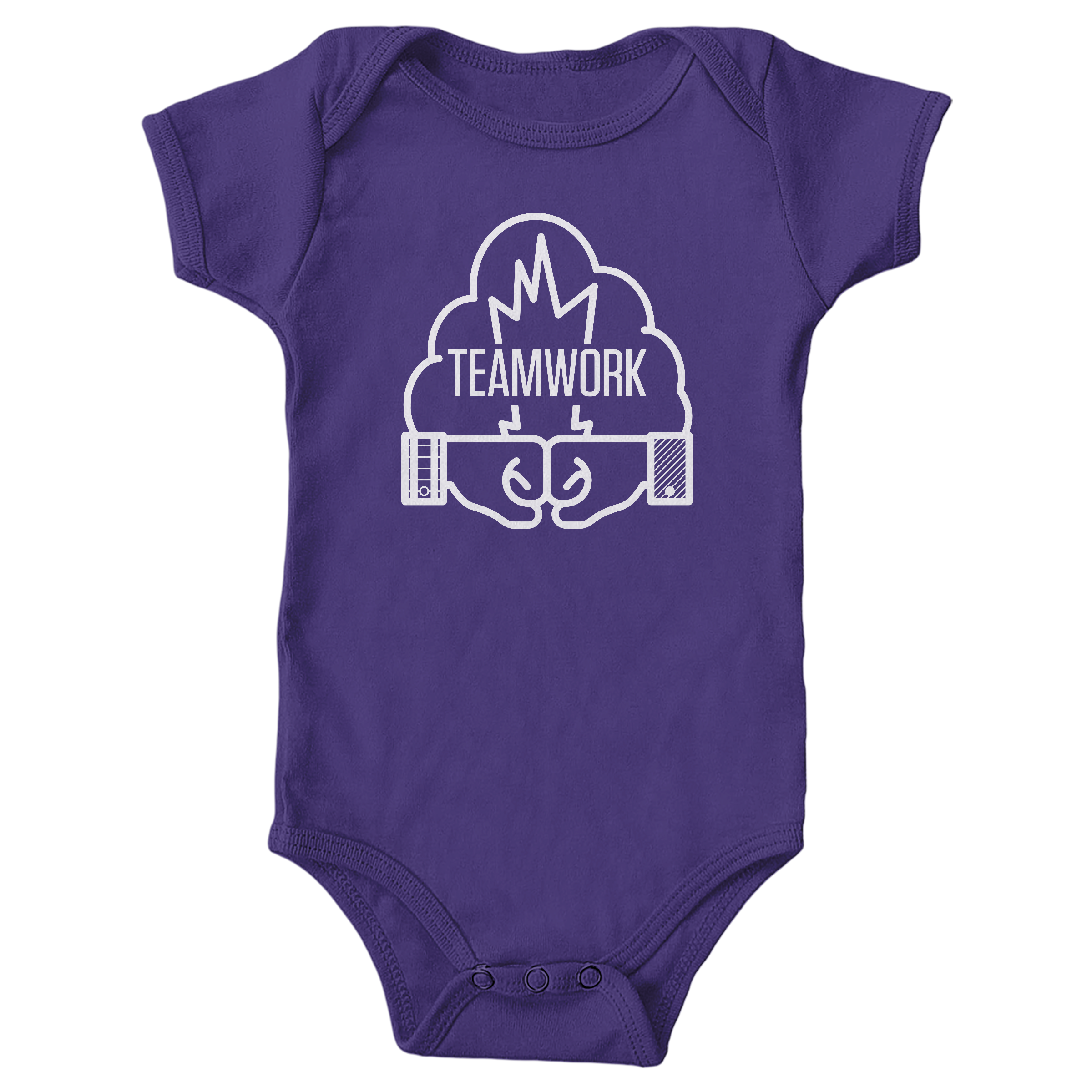TEAMWORK Purple (Onesie)