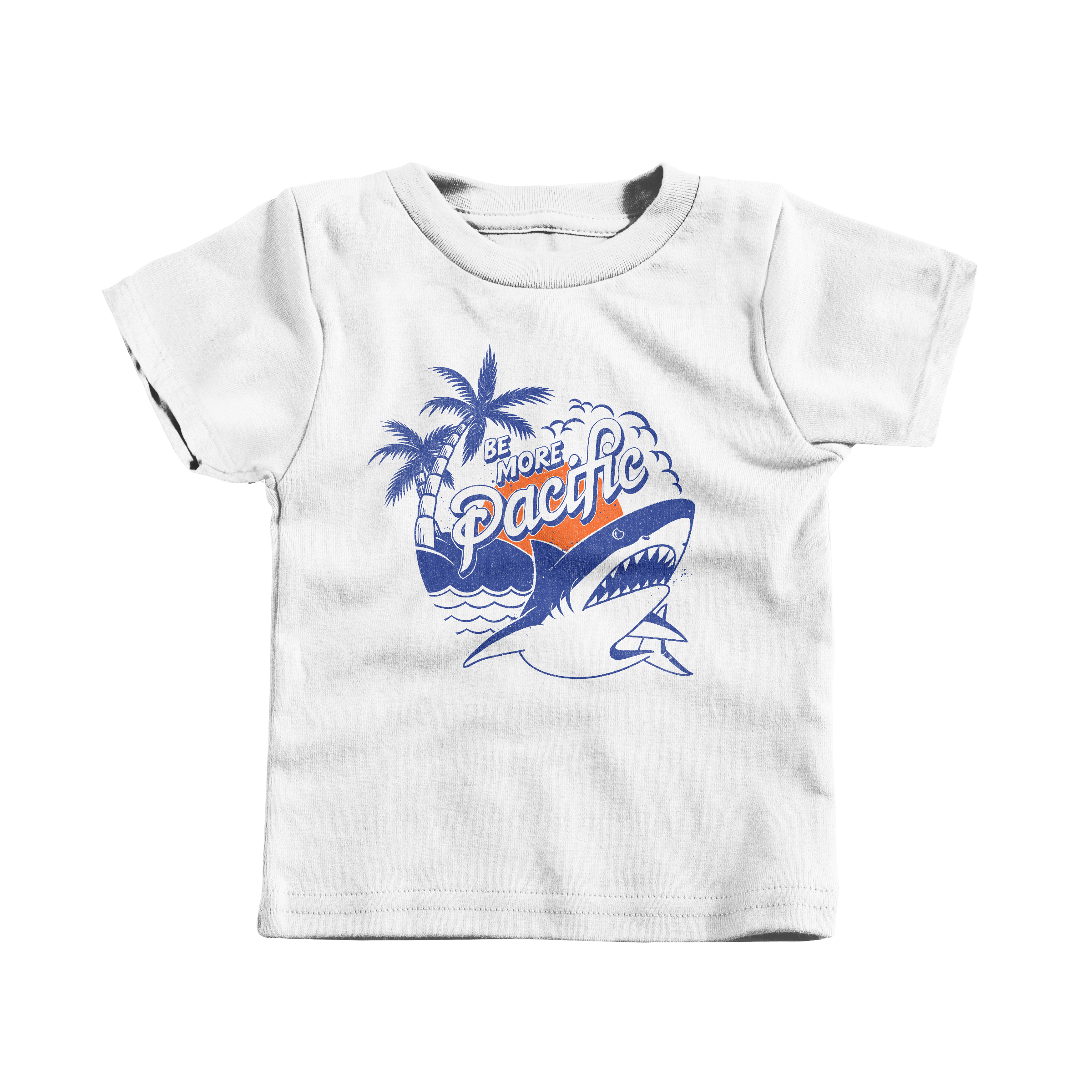 Be More Pacific White (T-Shirt)
