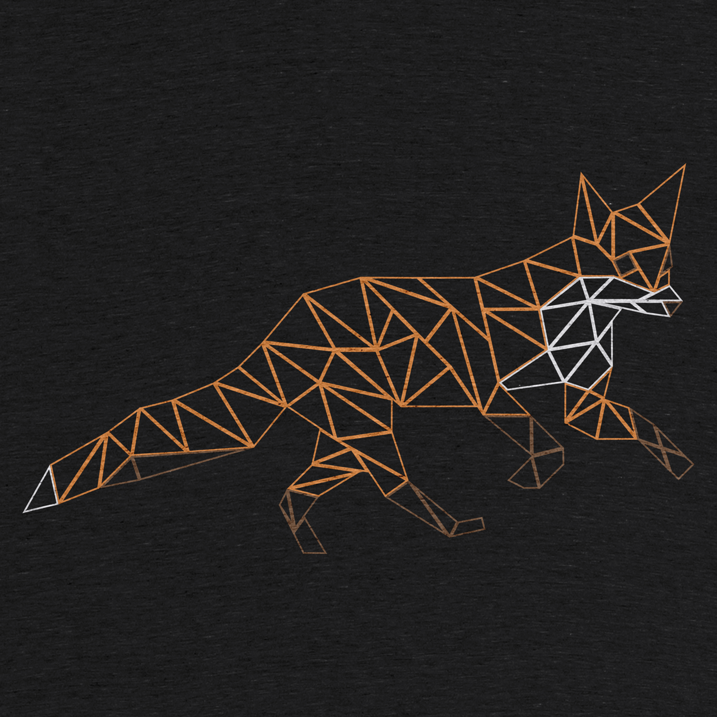 The Low Poly Fox Detail