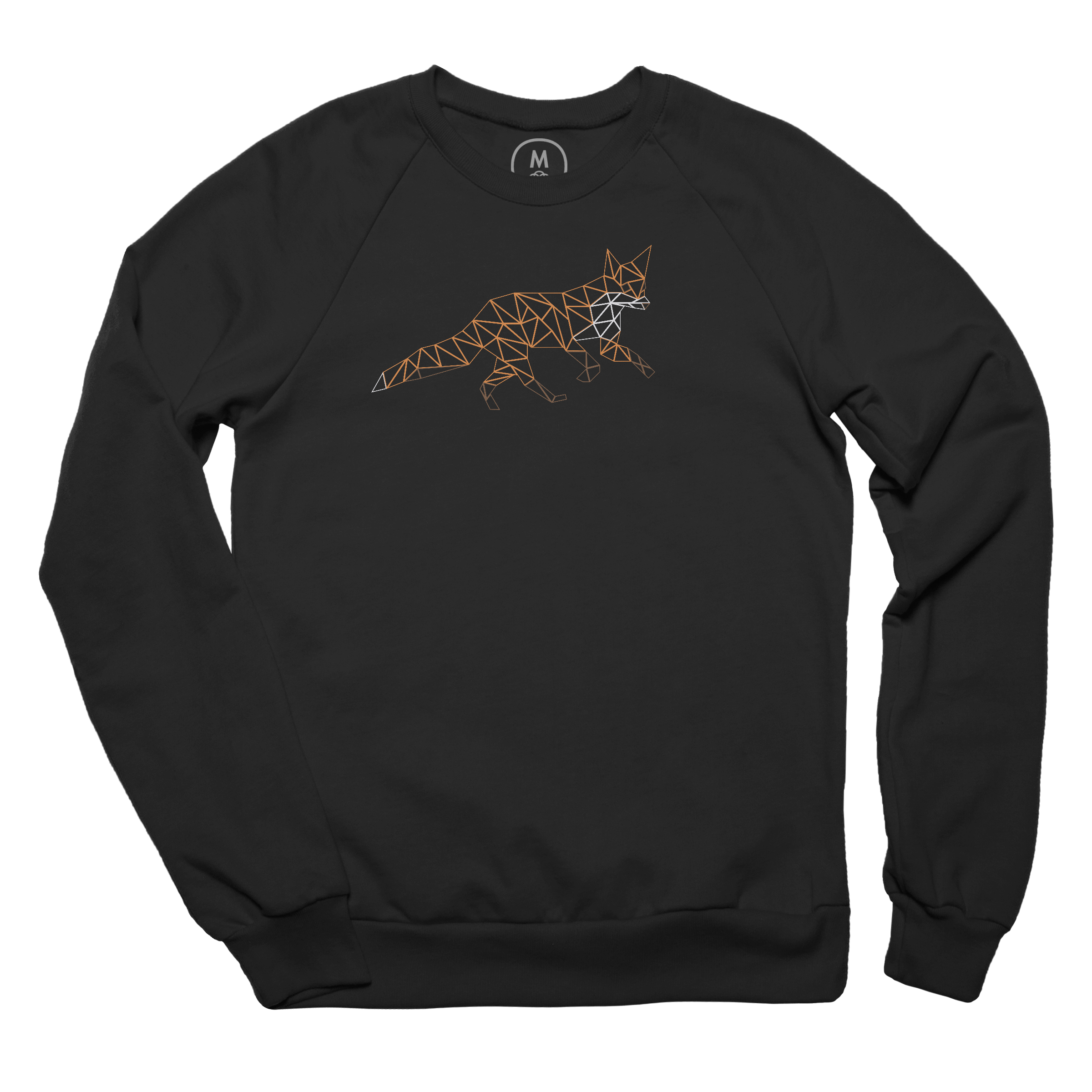 The Low Poly Fox Pullover Crewneck