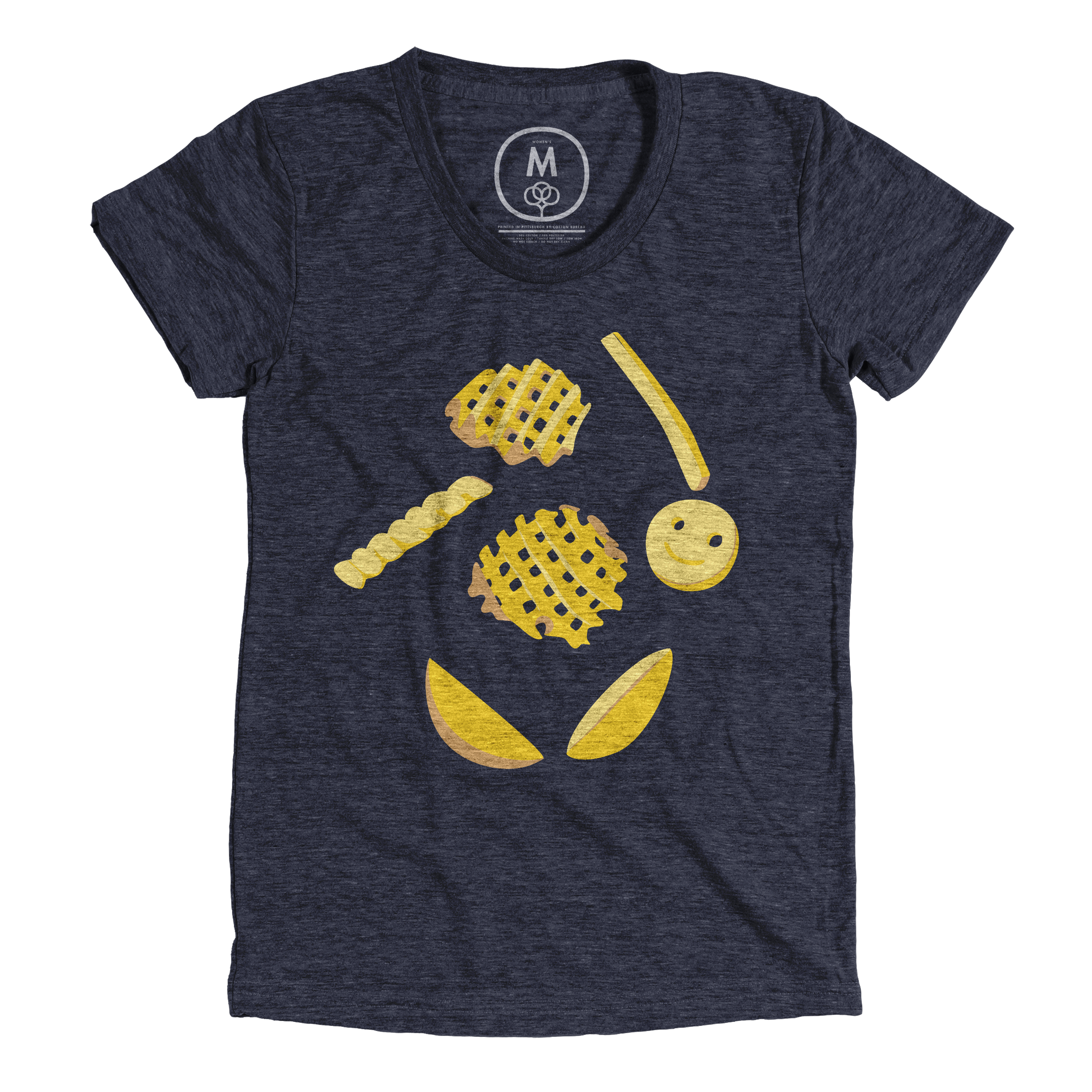Eyes on the Fries Vintage Navy (Women's)