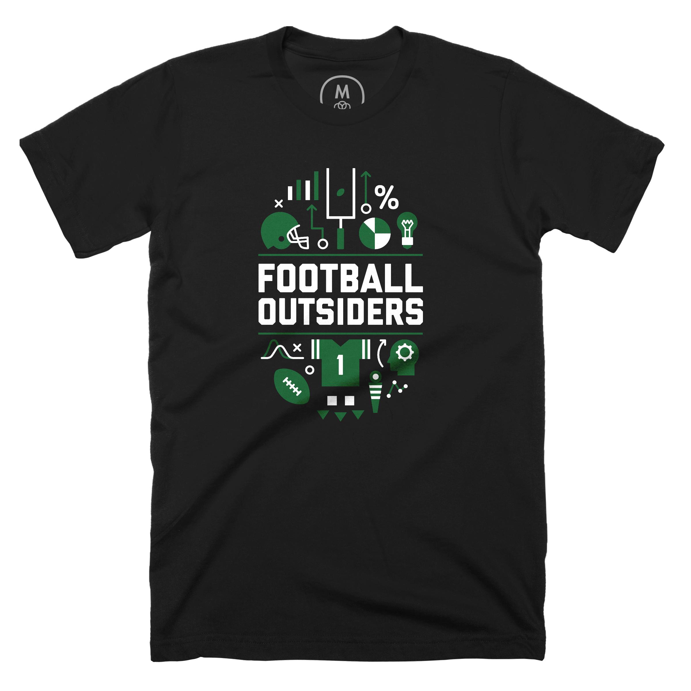 Football Outsiders Black (Men's)