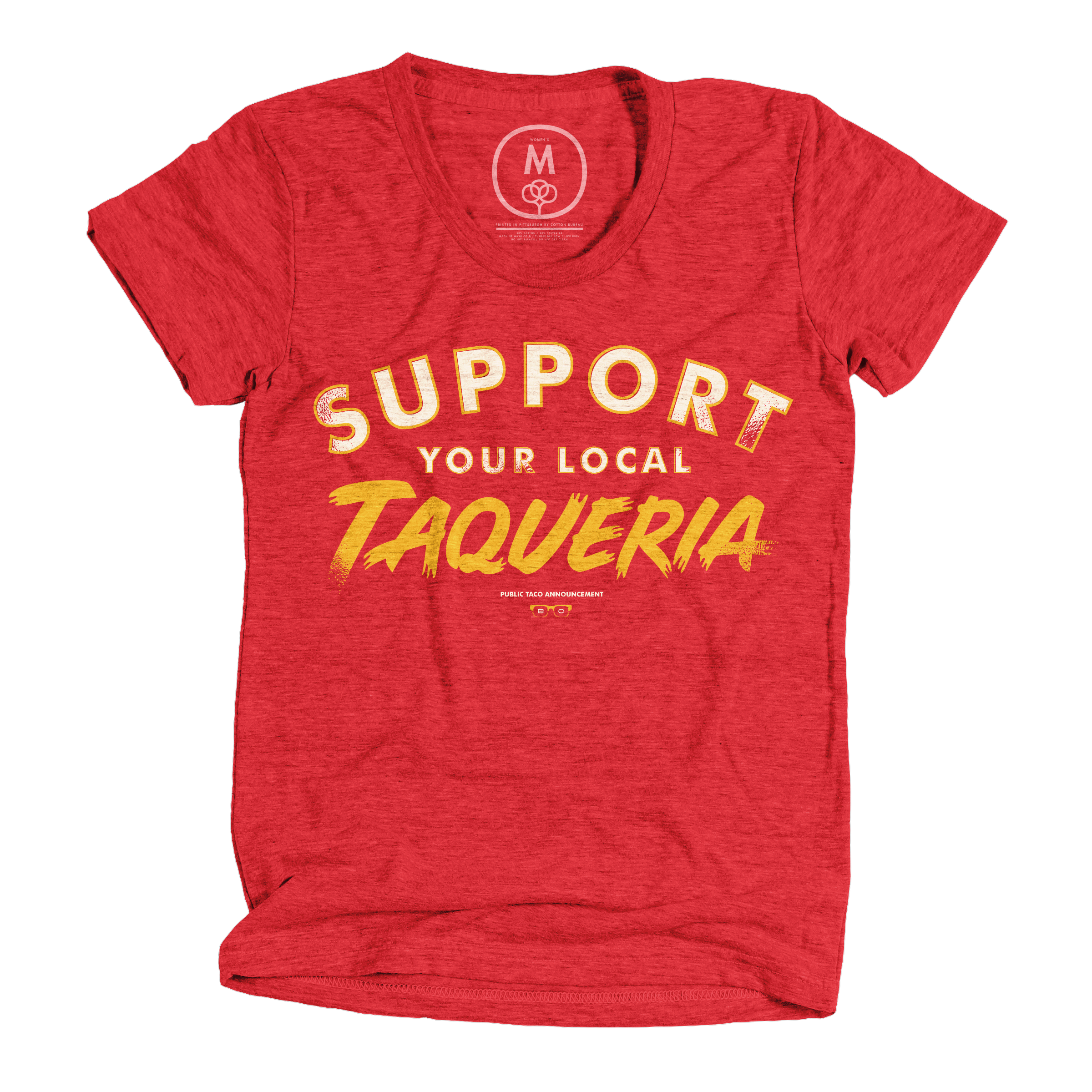 Support Local Red (Women's)
