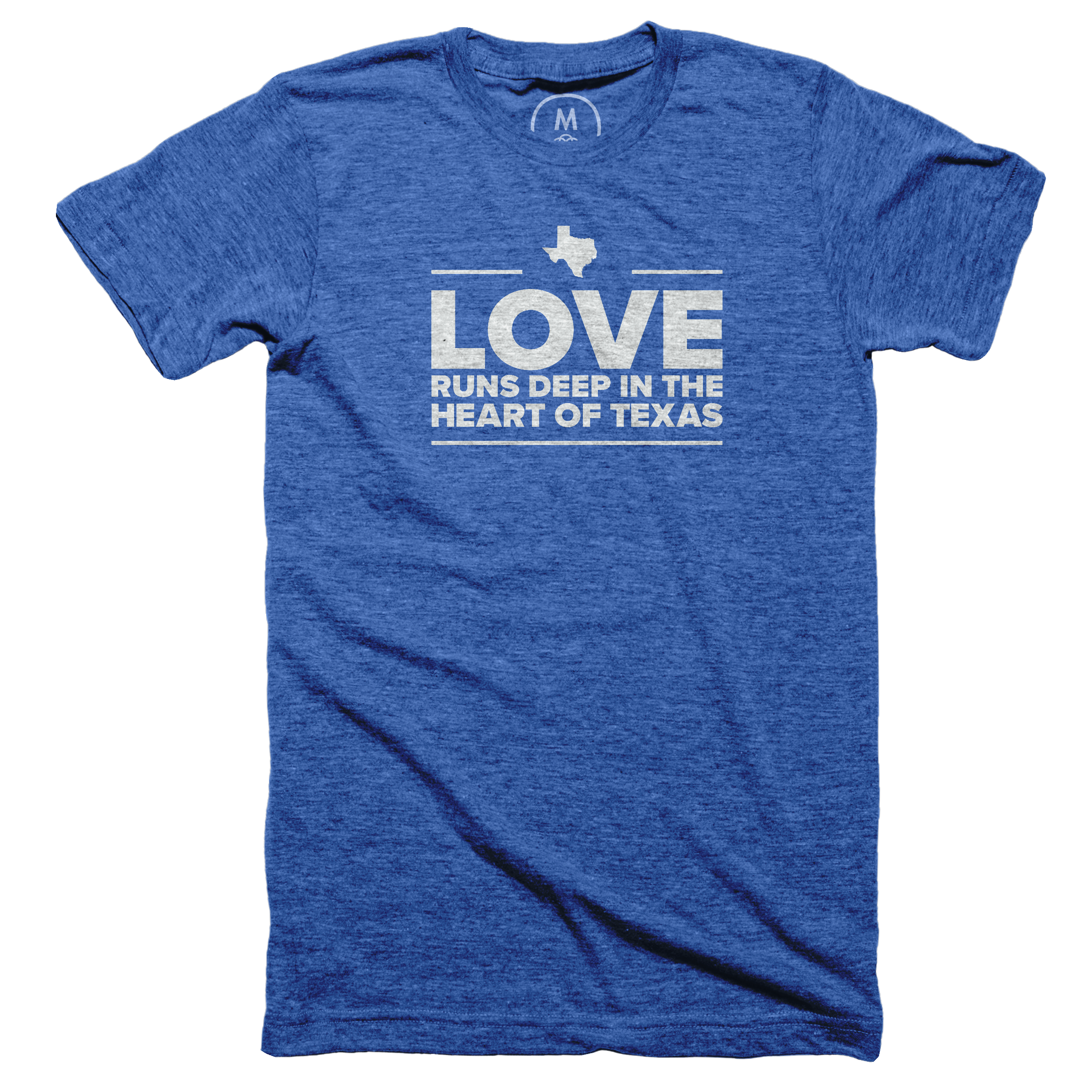 Love is Deep in the Heart of Texas Vintage Royal (Men's)
