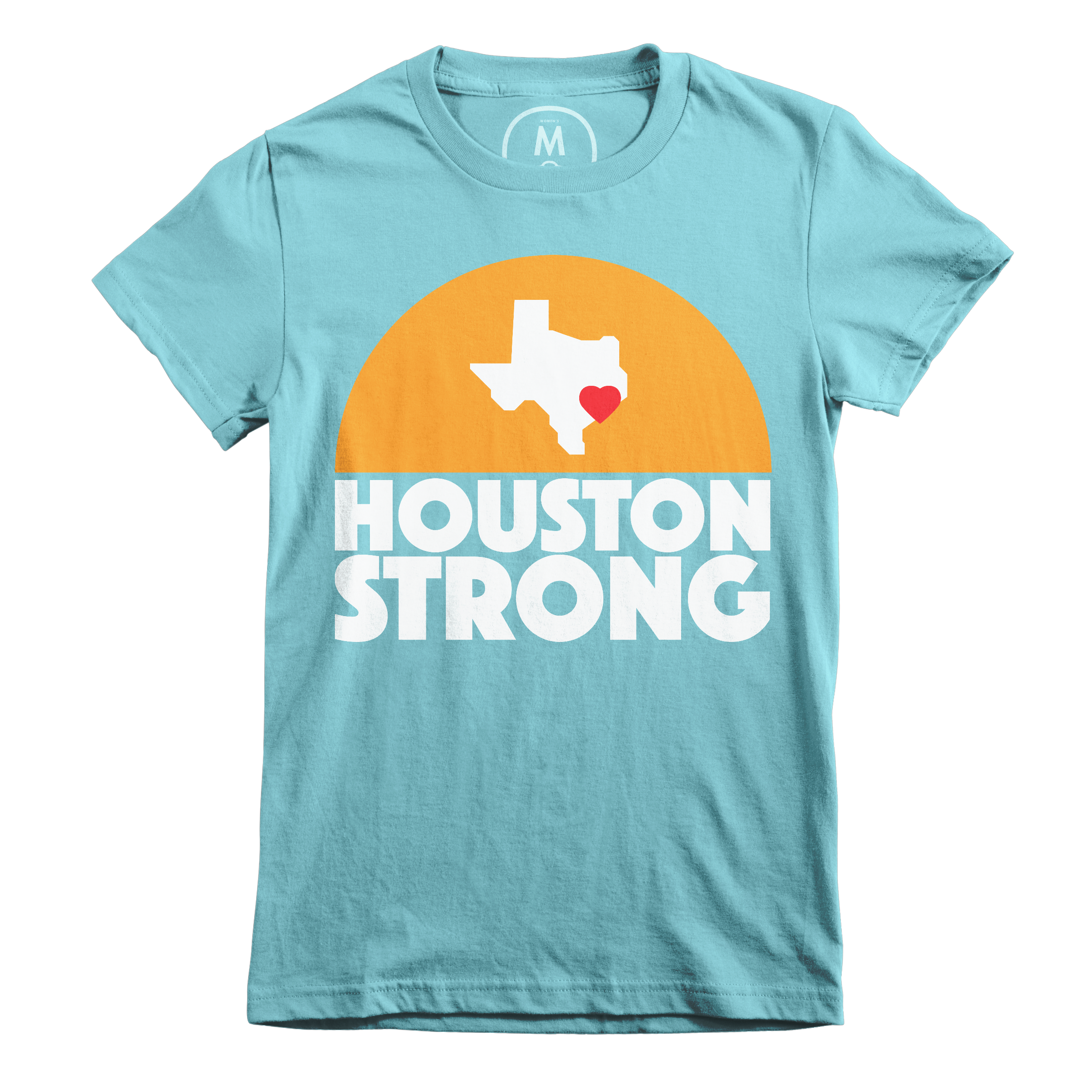 Houston Strong Tahiti Blue (Women's)