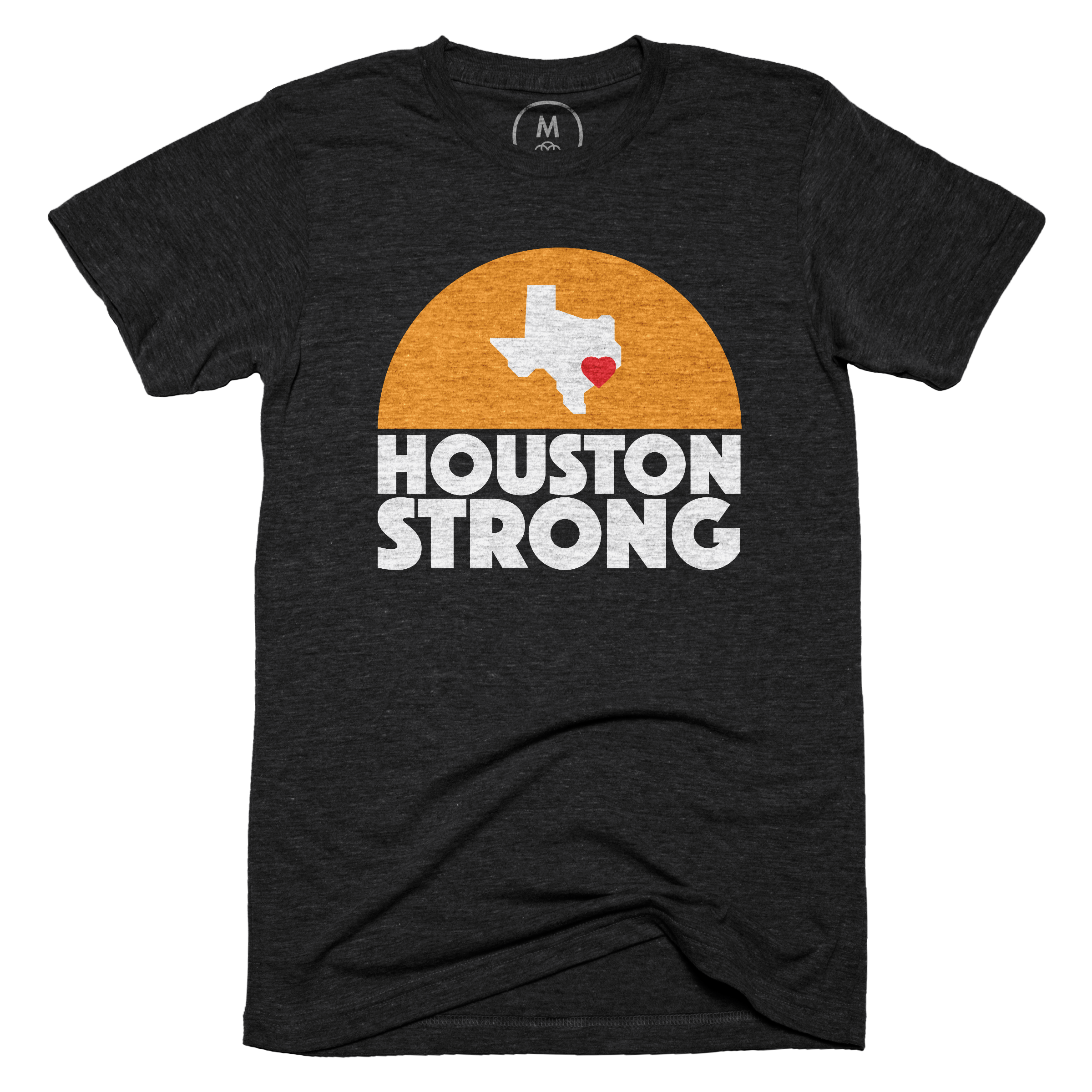 Houston Strong Vintage Black (Men's)