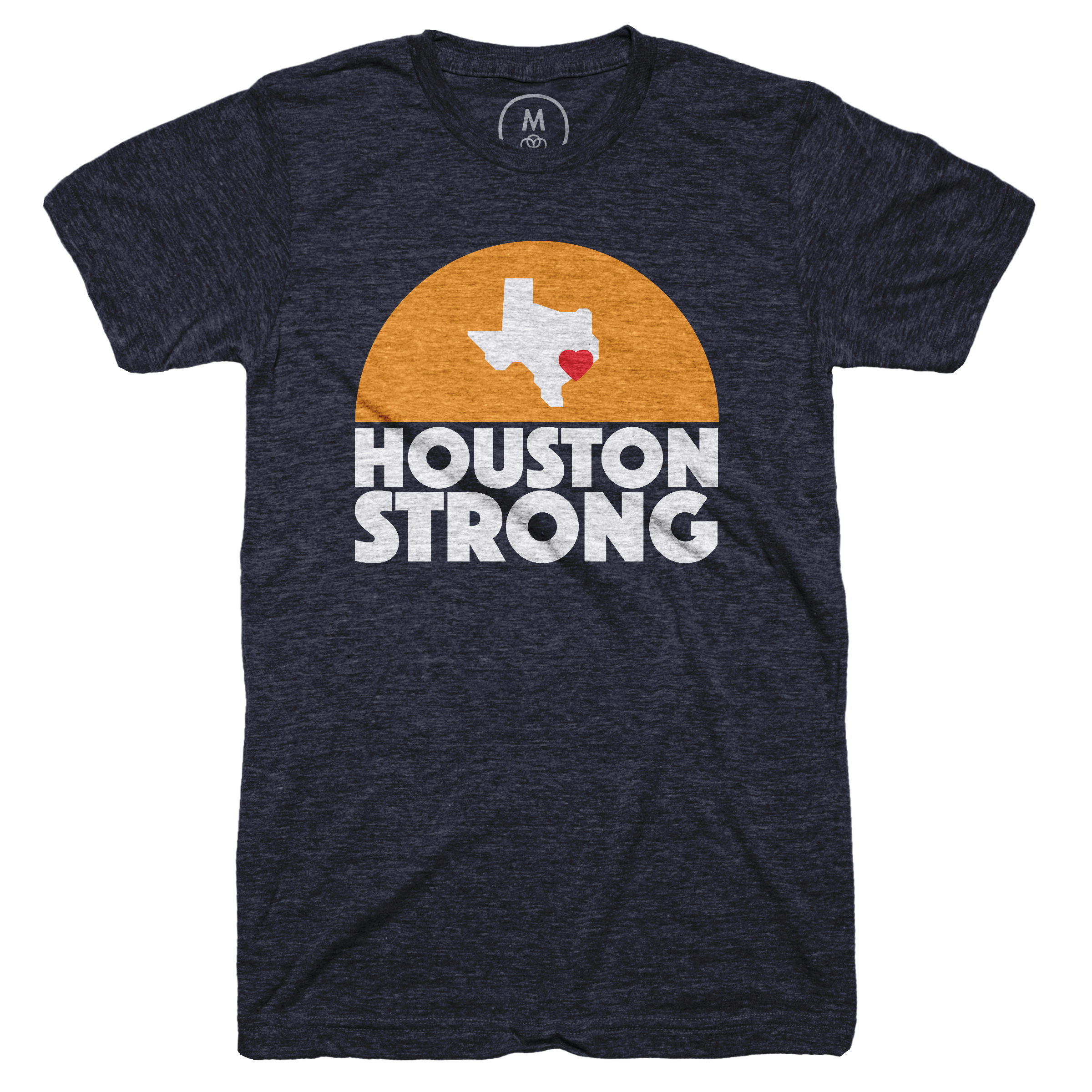 Houston Strong Vintage Navy (Men's)