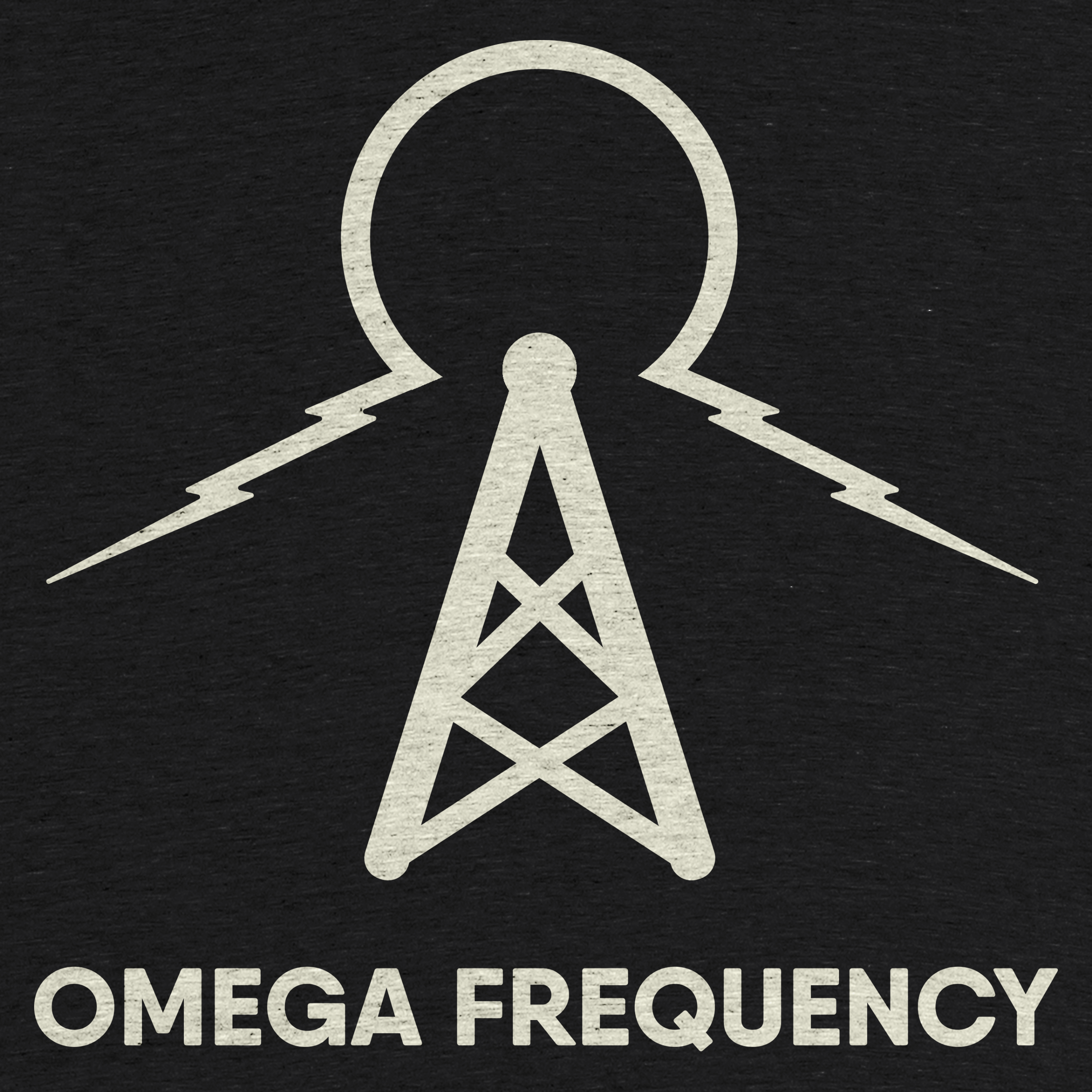 Omega Frequency Podcast Official Logo Tee