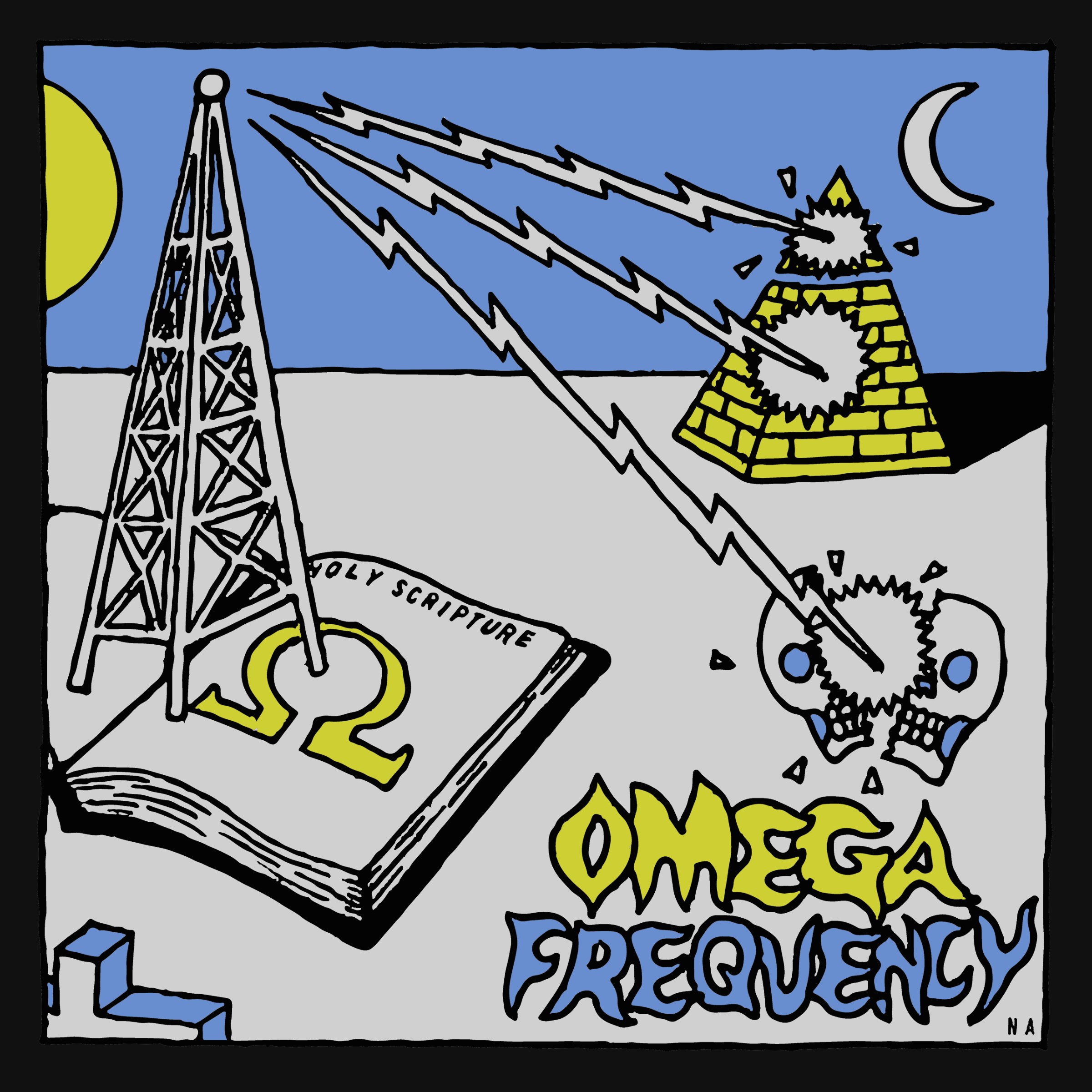 Omega Frequency Signal the Storm Edition Tee