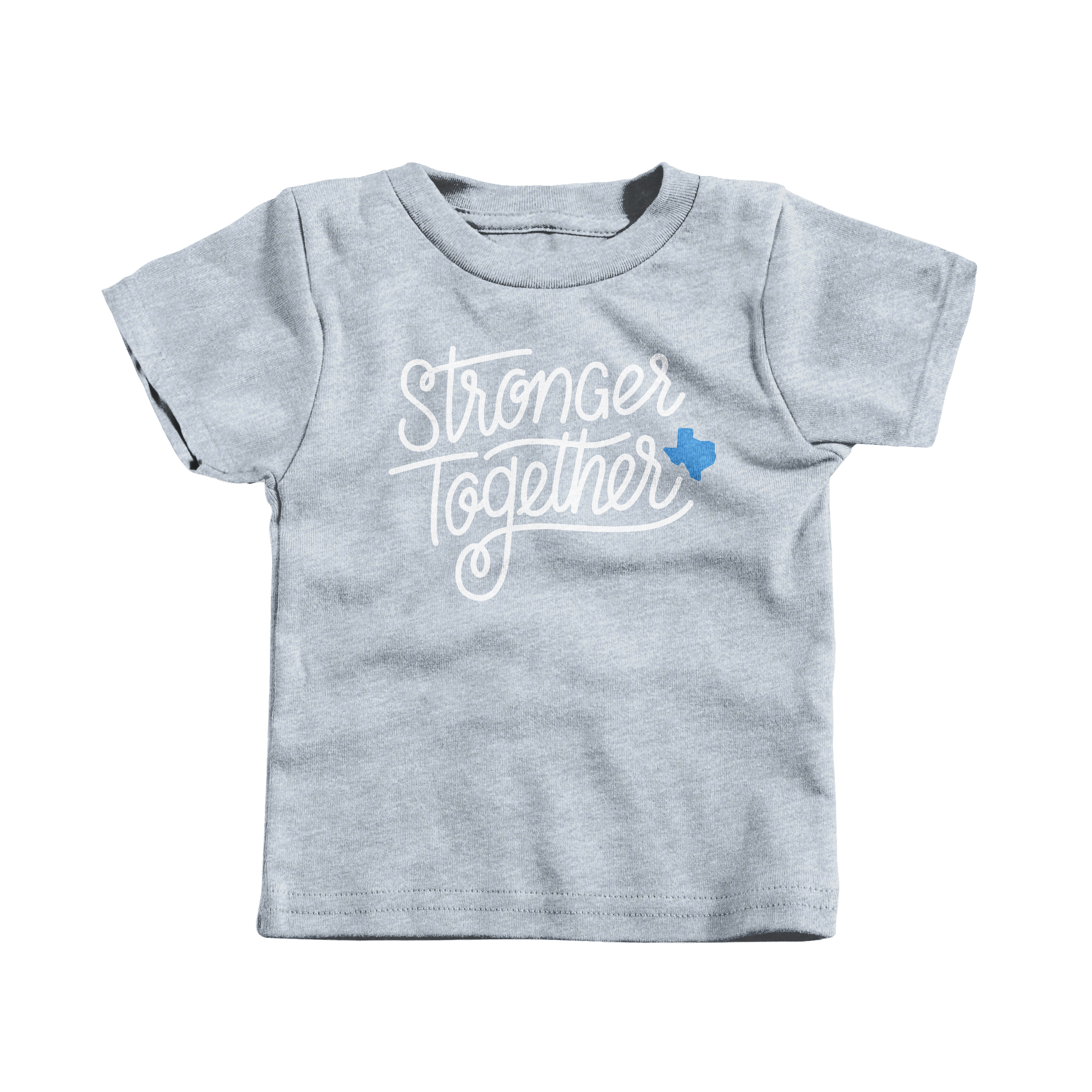 Stronger Together Heather Grey (T-Shirt)