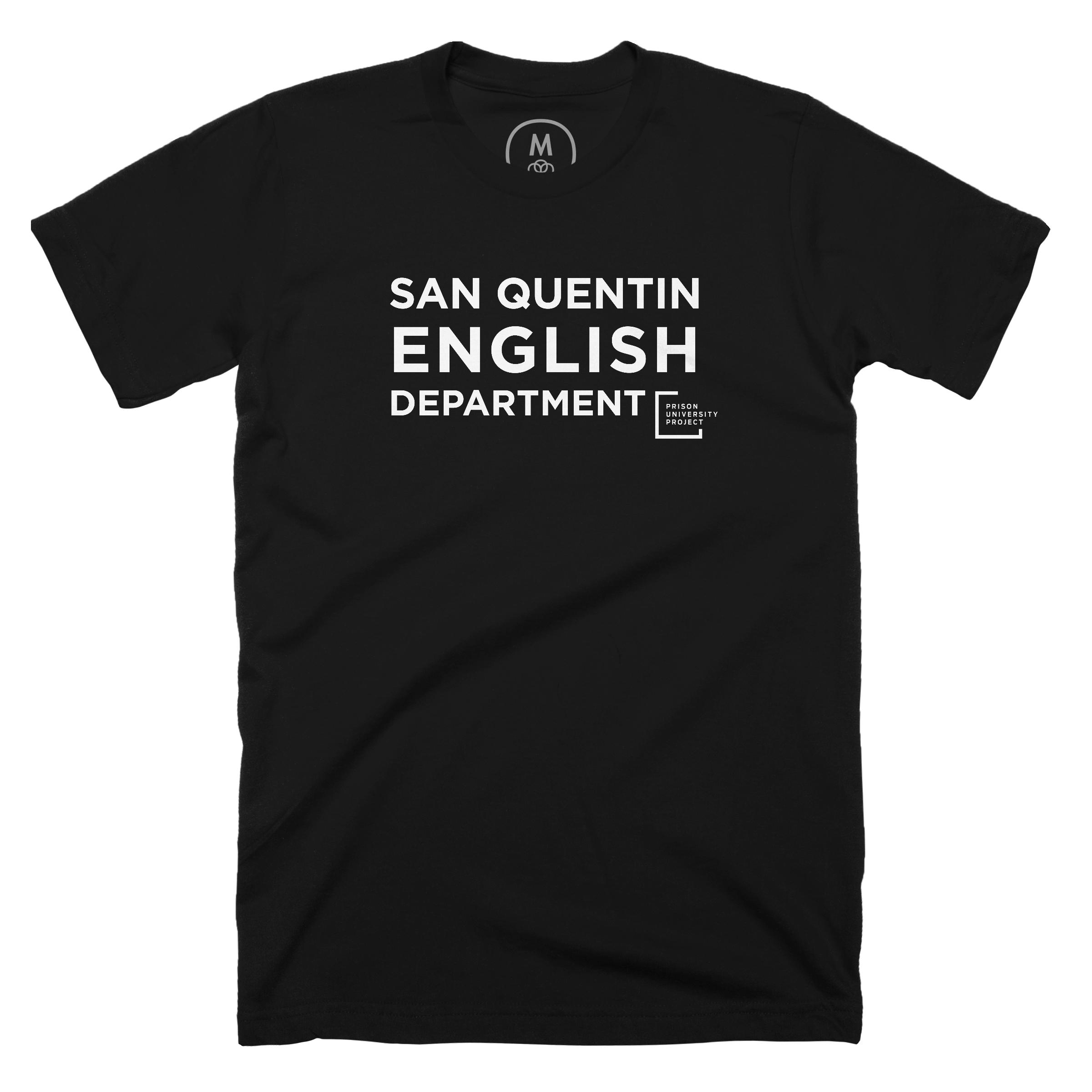 San Quentin English Department Black (Men's)