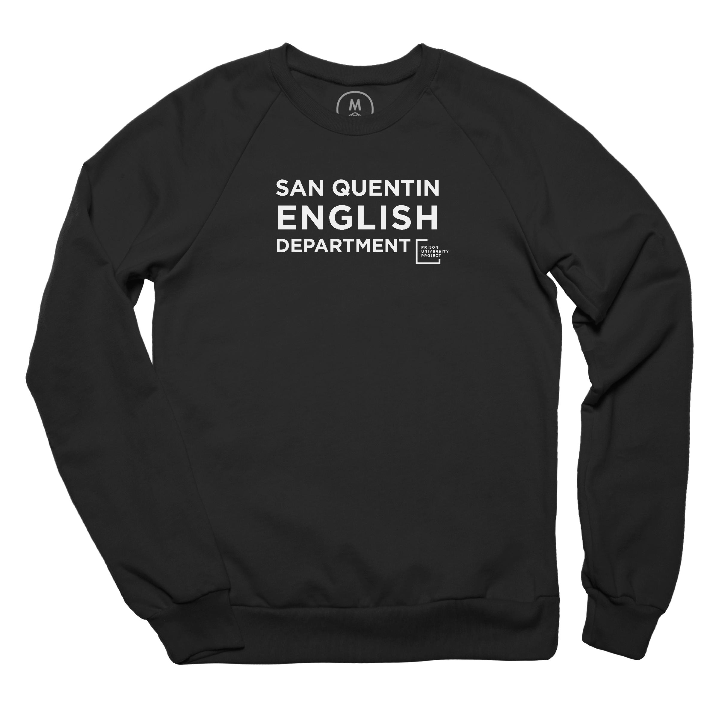 San Quentin English Department Pullover Crewneck