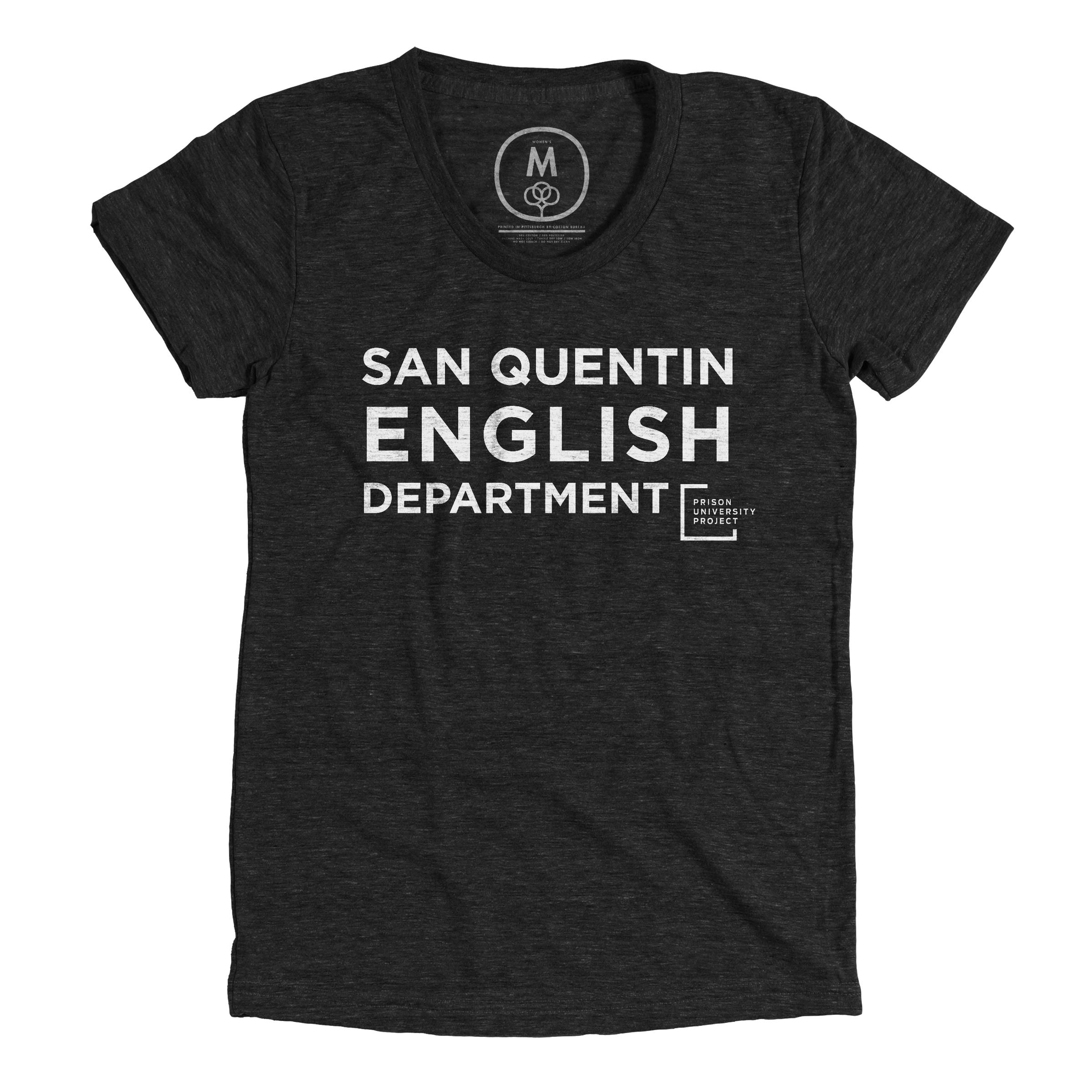 San Quentin English Department Vintage Black (Women's)