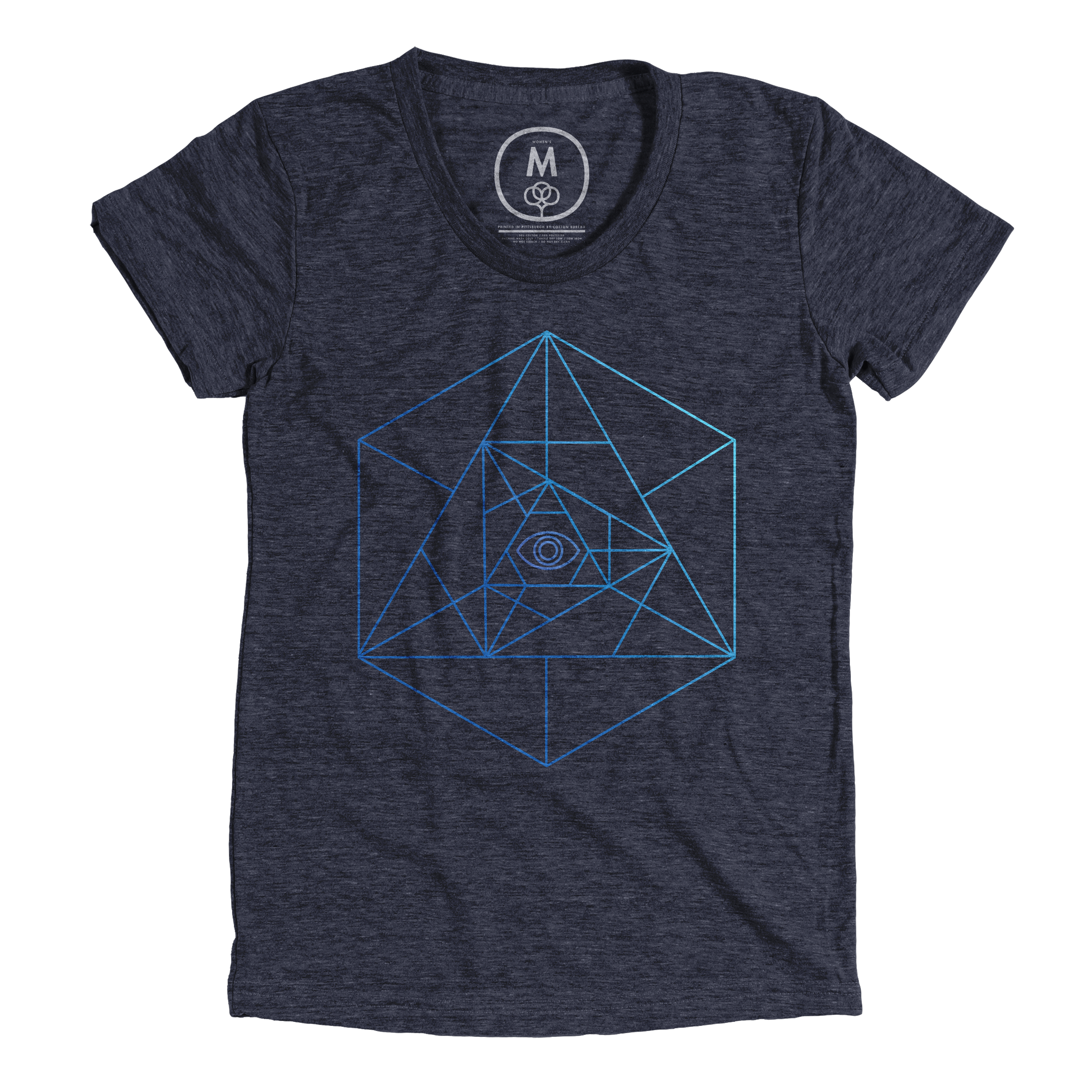 Sacred Geometry Vintage Navy (Women's)