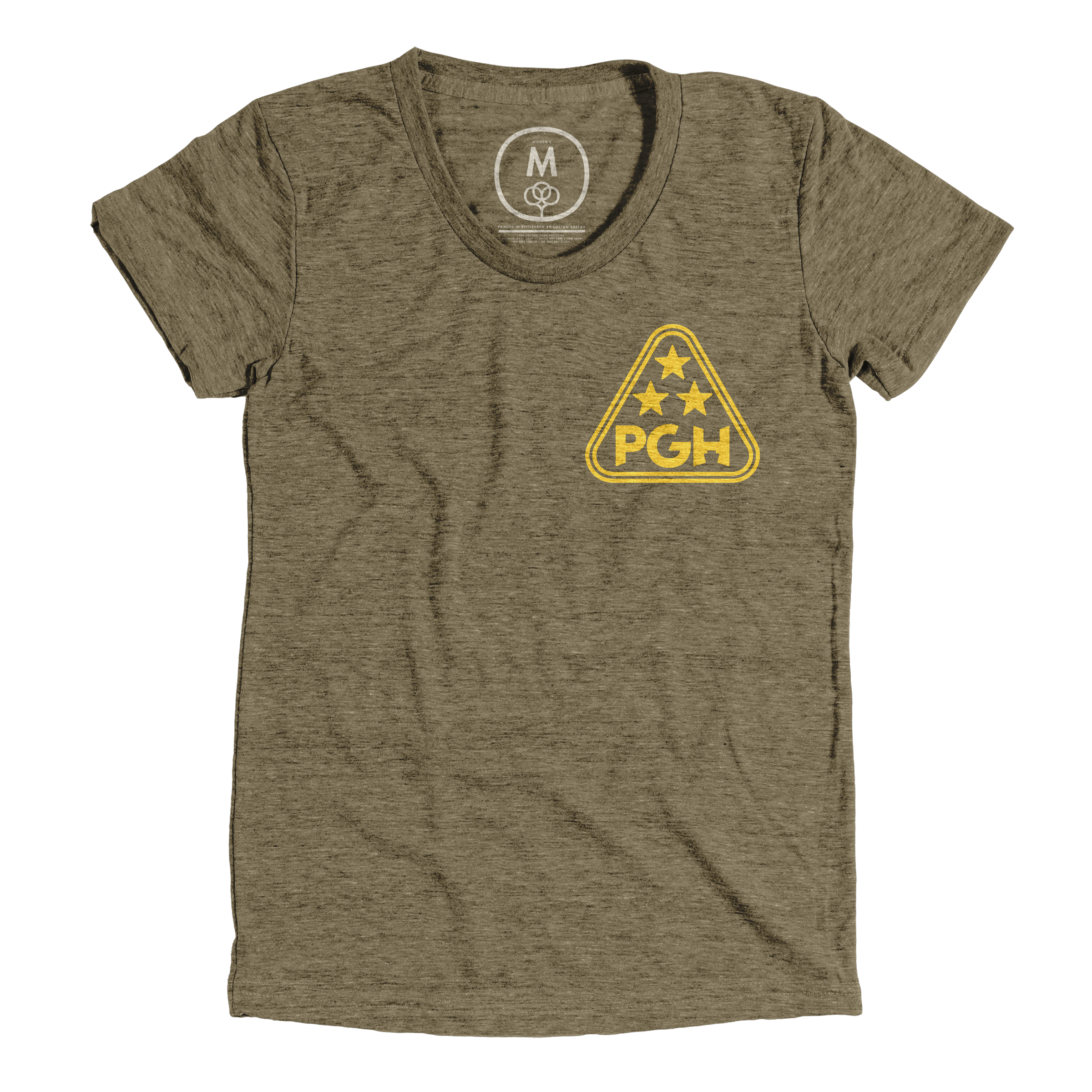 The Golden Triangle Military Green (Women's)