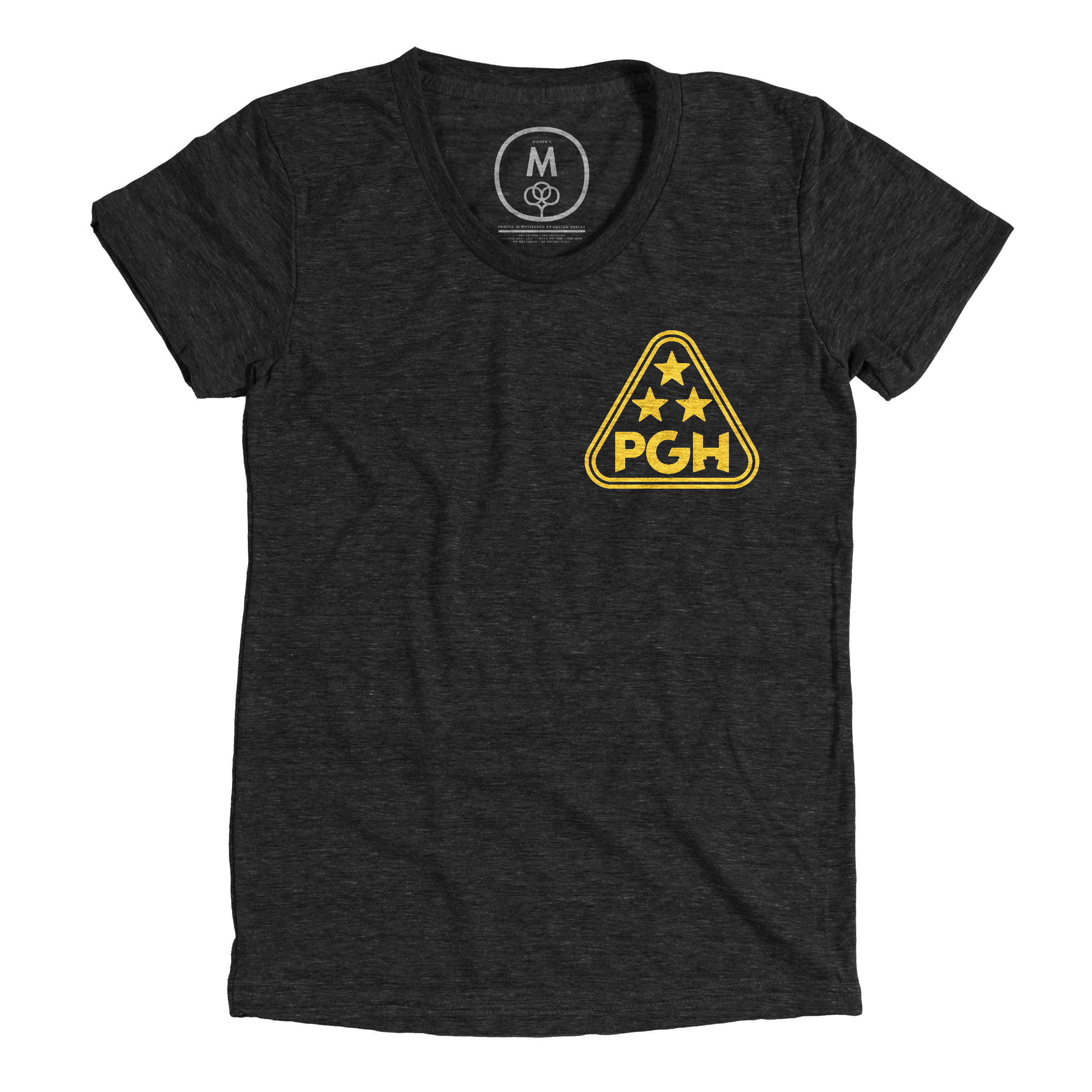 The Golden Triangle Vintage Black (Women's)