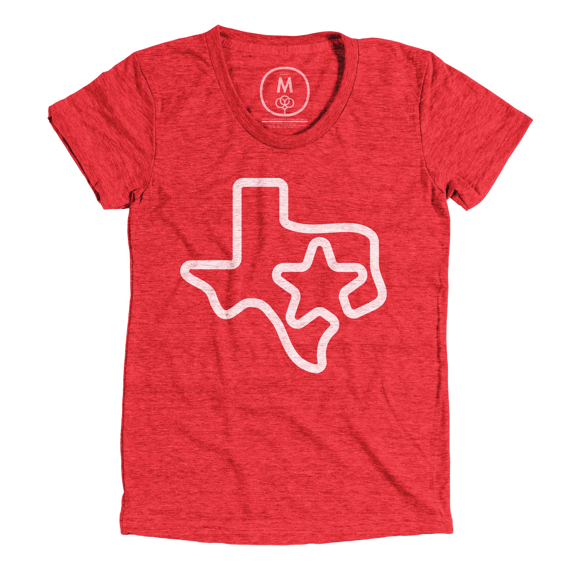 Branded Texan Vintage Red (Women's)
