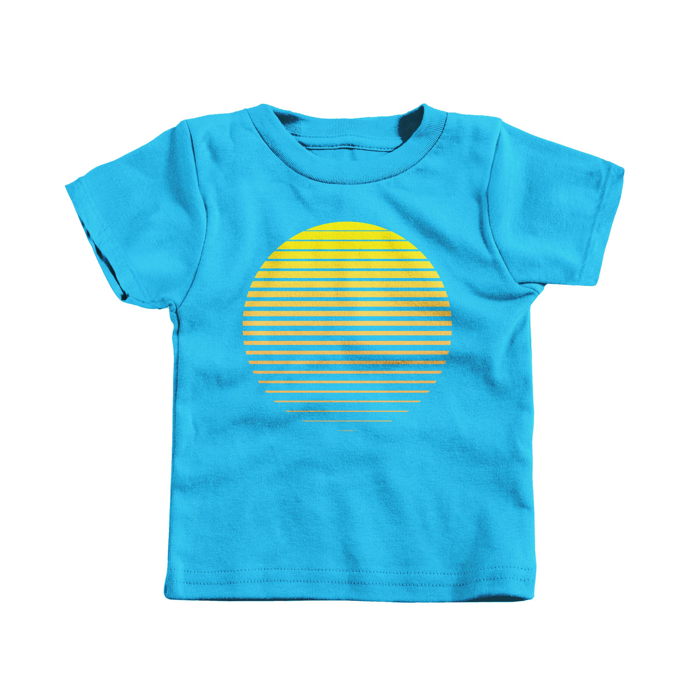 Sunrise Turquoise (T-Shirt)