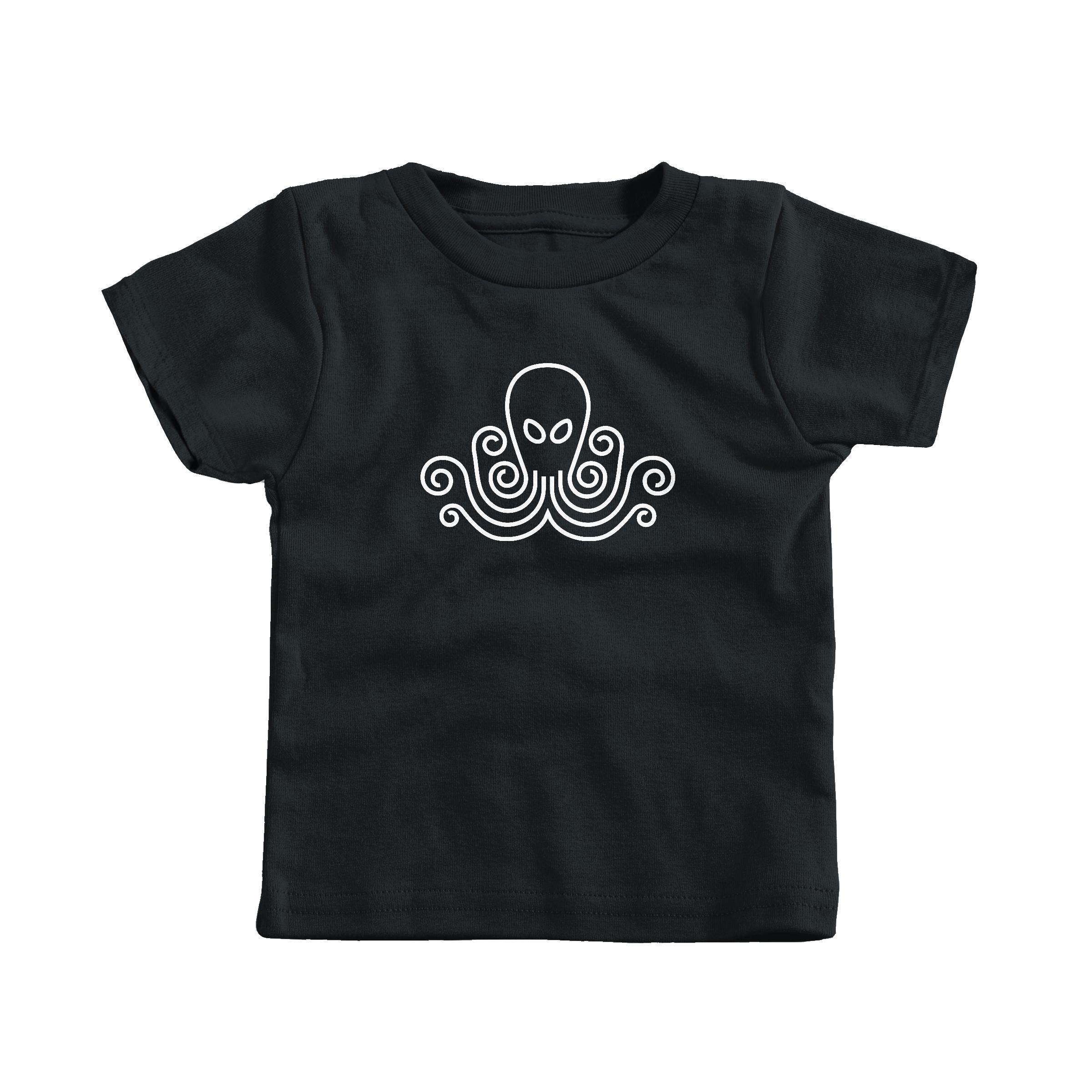 Octopus Black (T-Shirt)
