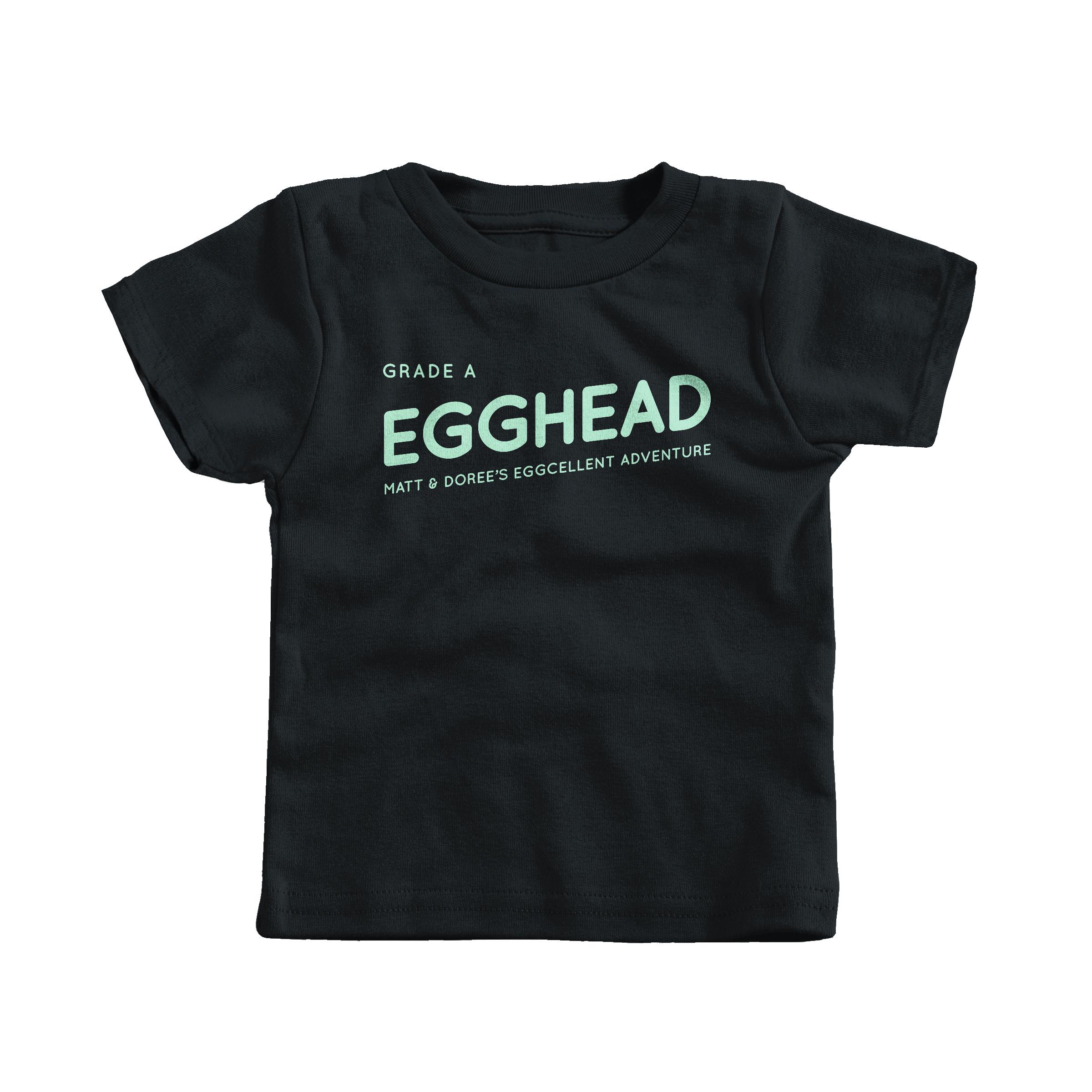 Egghead Black (T-Shirt)