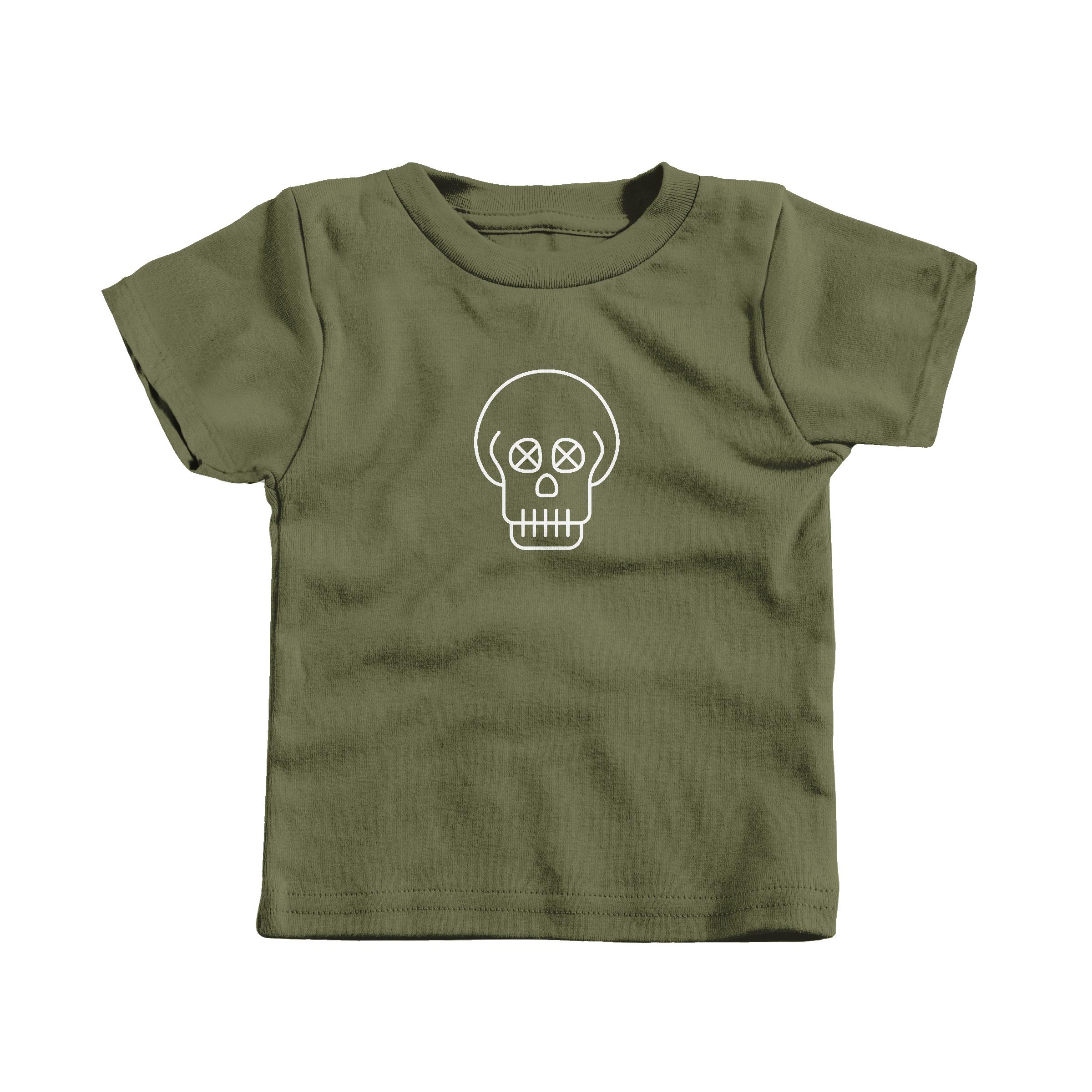 SKULL Military Green (T-Shirt)