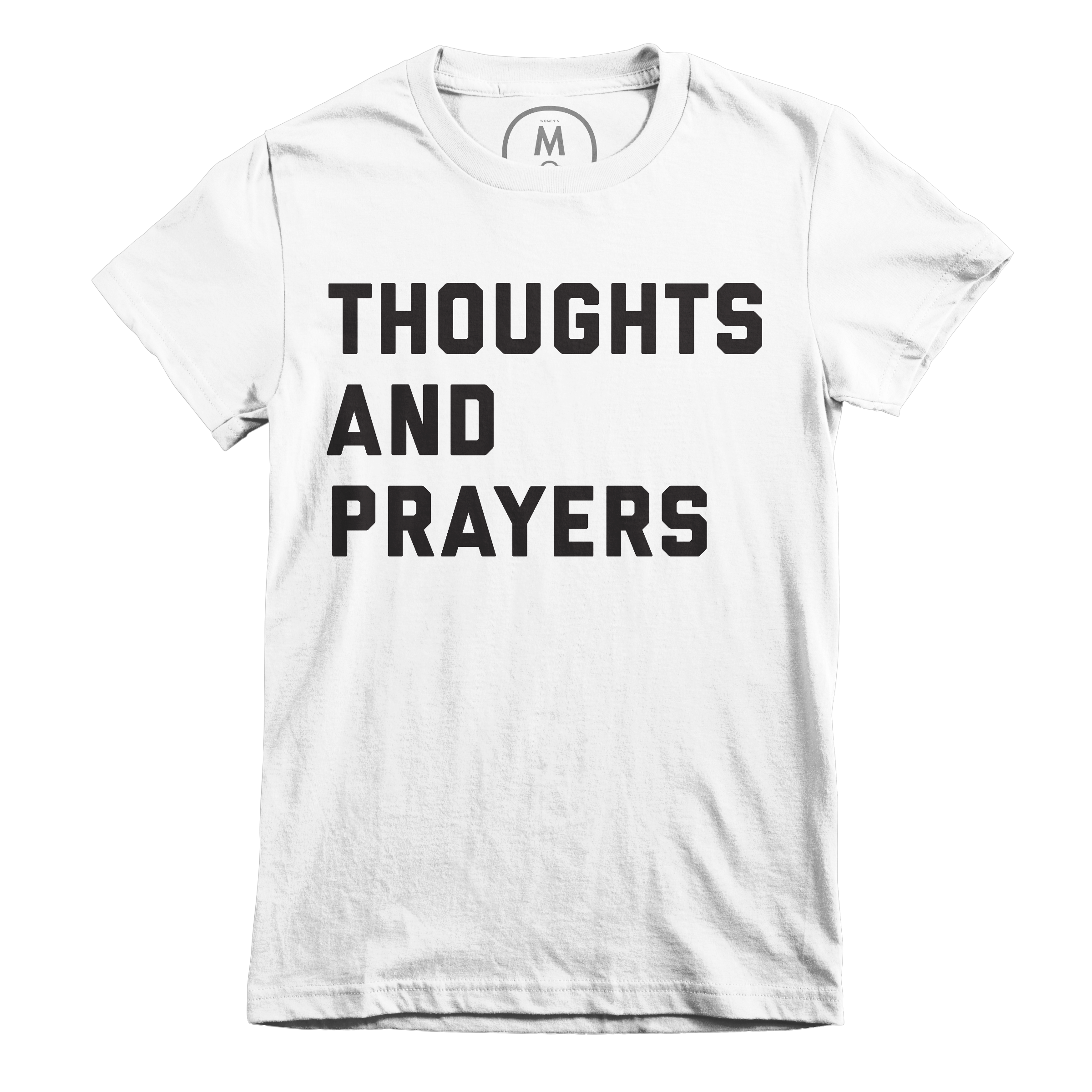 Thoughts and Prayers White (Women's)