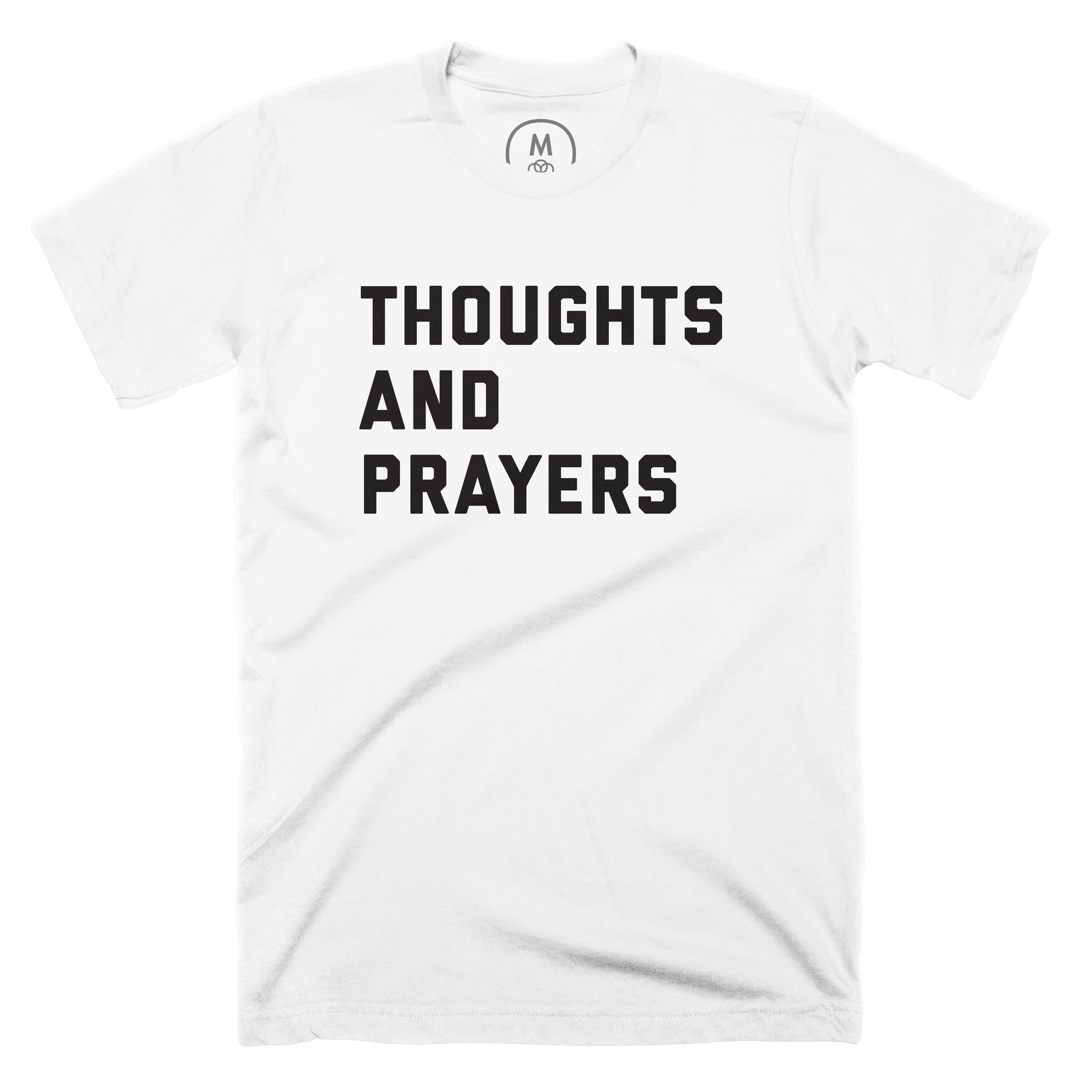 Thoughts and Prayers White (Men's)