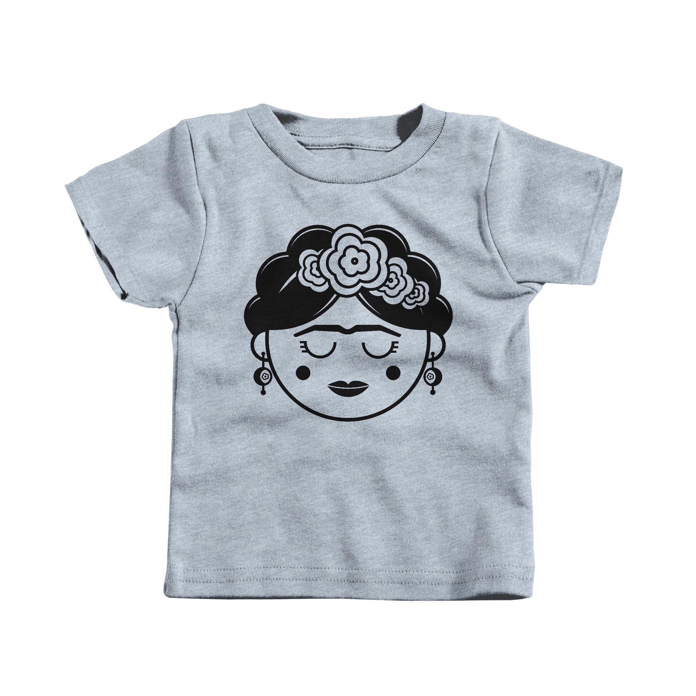 Frida Kahlo Heather Grey (T-Shirt)