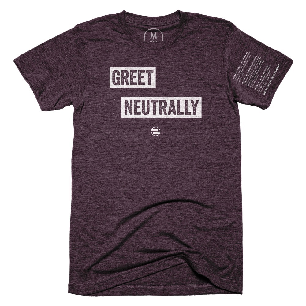 "GenEquality ""Greet Neutrally"""