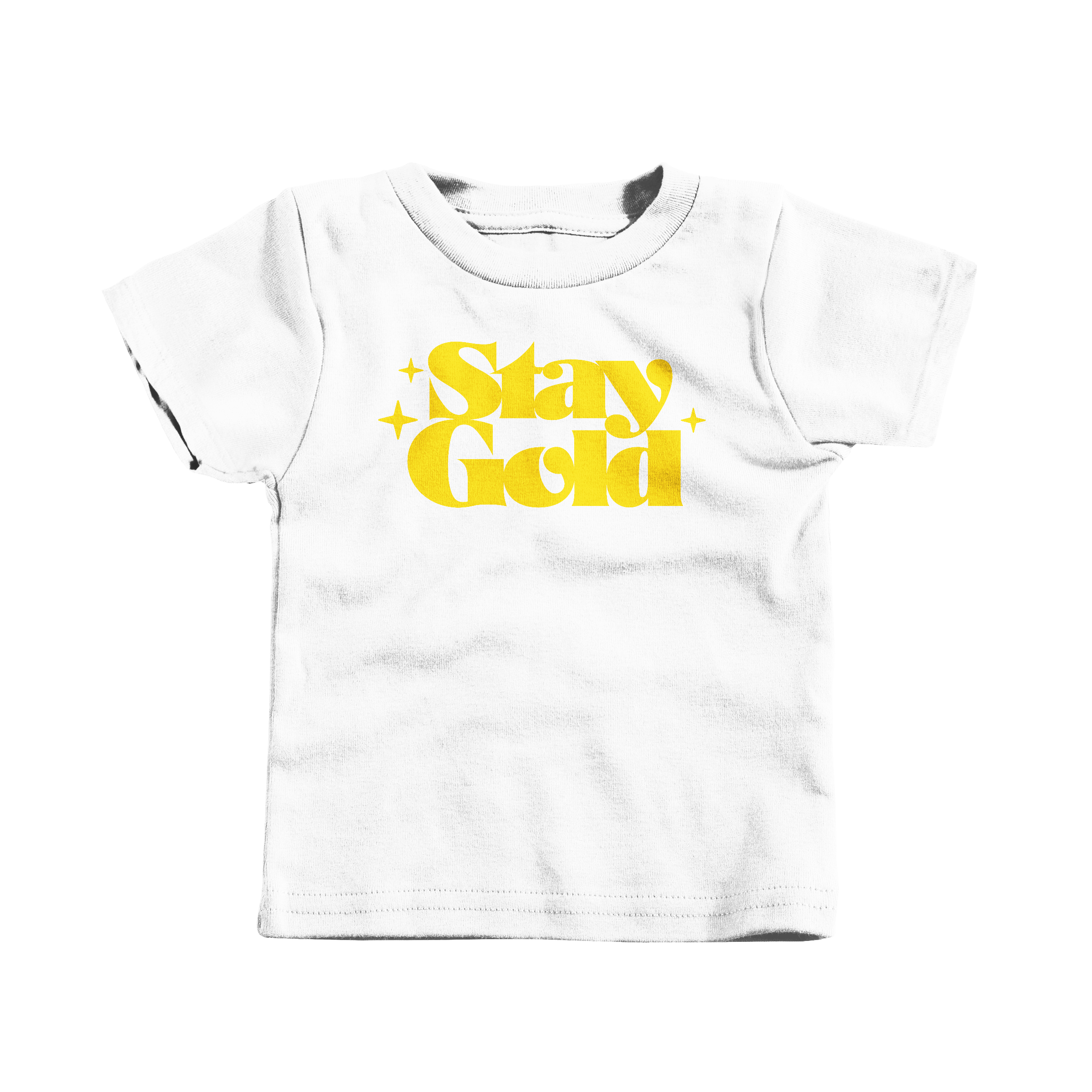 Stay Gold White (T-Shirt)