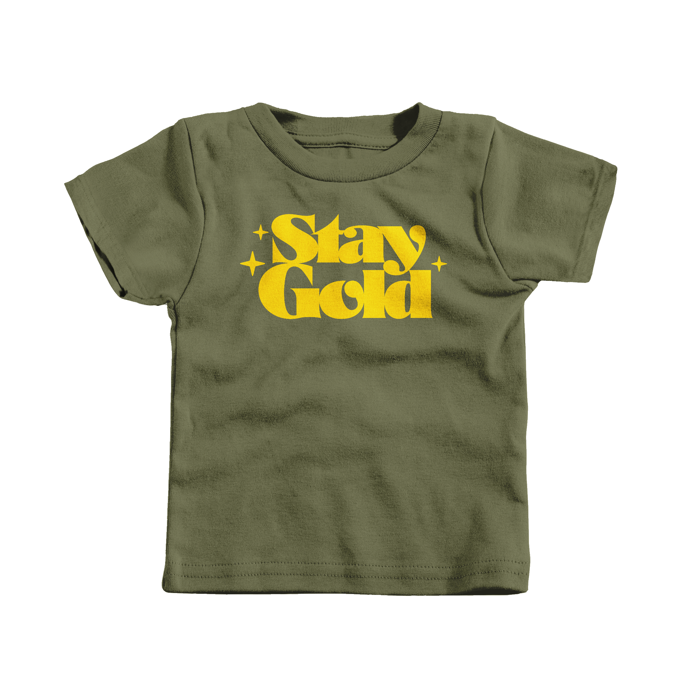 Stay Gold Military Green (T-Shirt)
